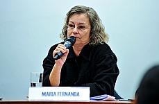 Audiência pública com o Grupo de Trabalho sobre Saúde Mental para discutir a situação atual da Política de Atenção à Saúde Mental no Brasil. Coordenadora Adjunta da Área Técnica de Saúde Mental, Álcool e outras Drogas do Ministério da Saúde, Maria Fernanda Nicacio