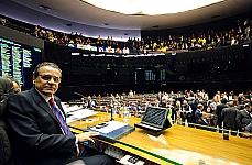 Discussão da PEC 37/2011. Presidente da Câmara, dep. Henrique Eduardo Alves (PMDB-RN)