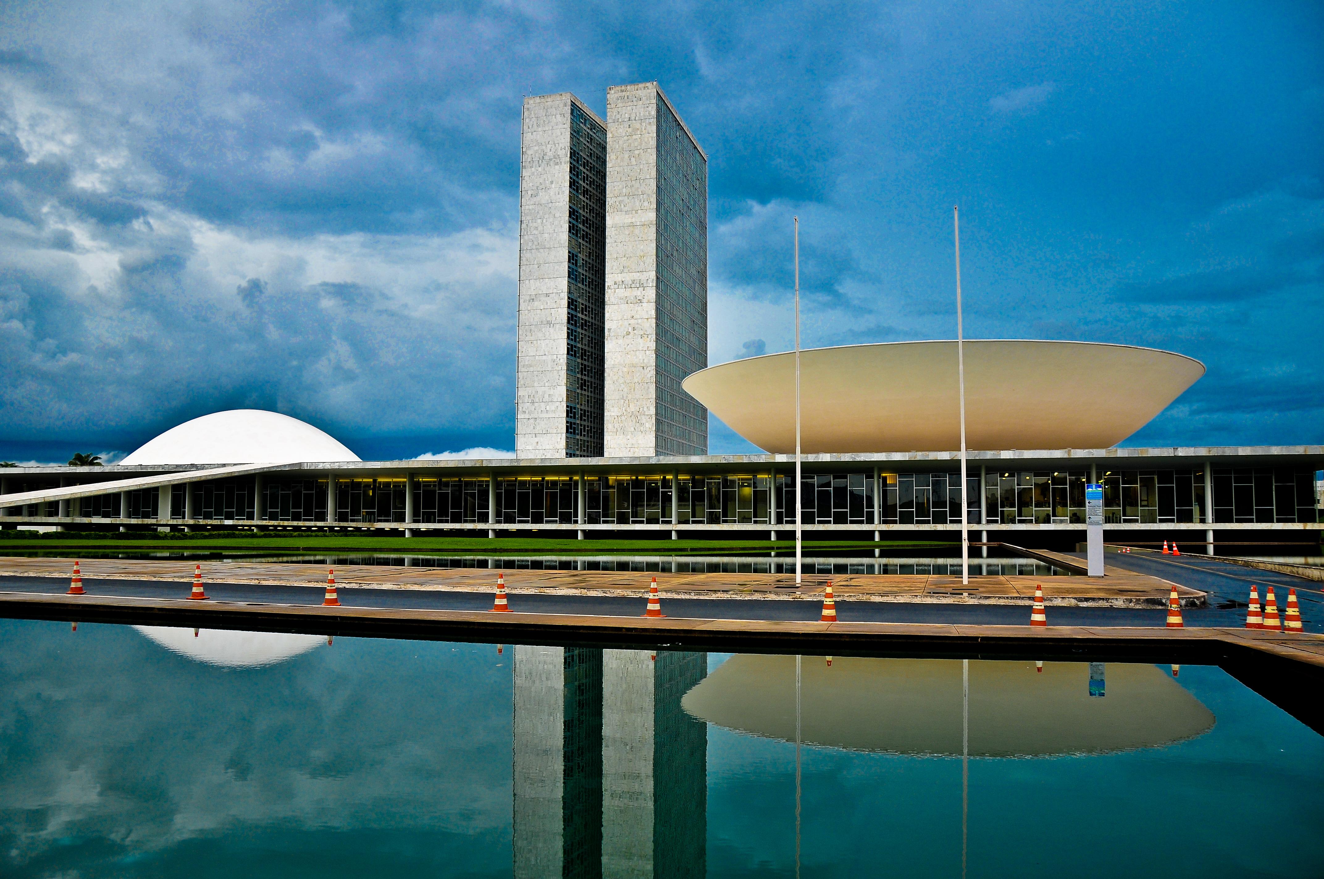 Congresso Nacional Câmara dos Deputados Fachada