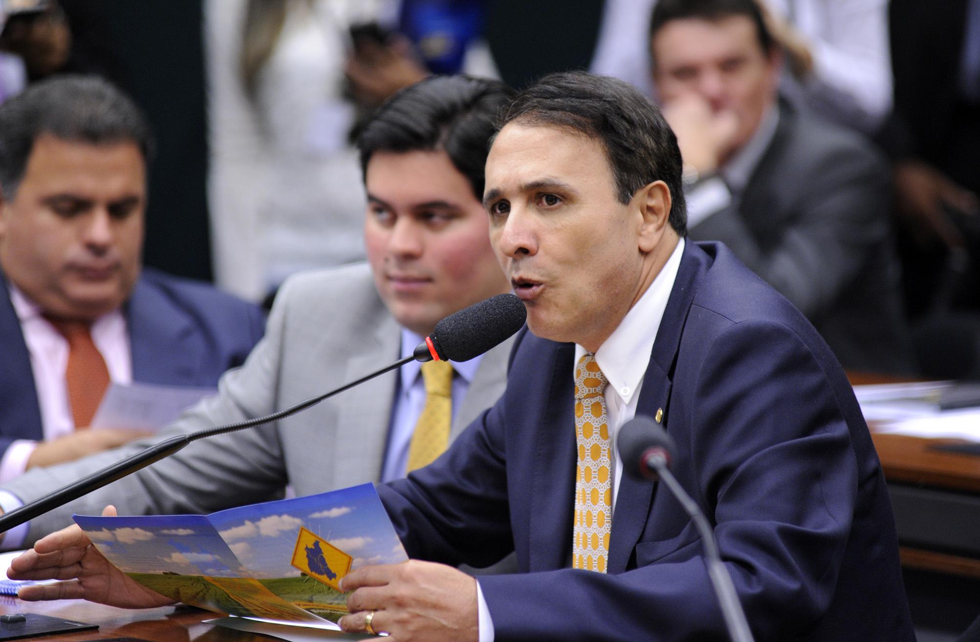 Audiência pública sobre a implementação de políticas para o desenvolvimento econômico da Região do MATOPIBA. Dep. Carlos Henrique Gaguim (PMDB-TO)