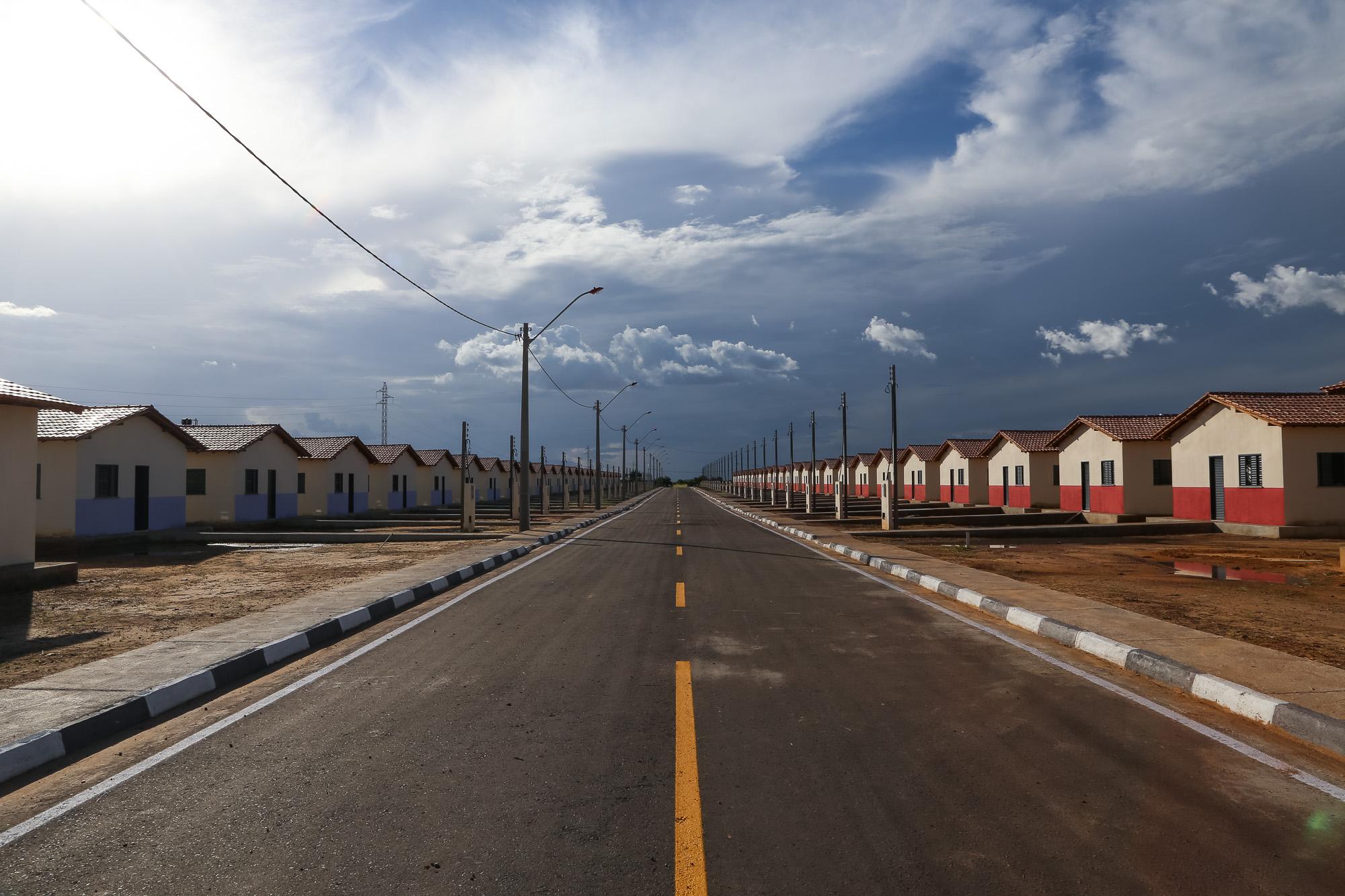 Habitação - casas  - PAC minha casa minha vida assentamento moradias