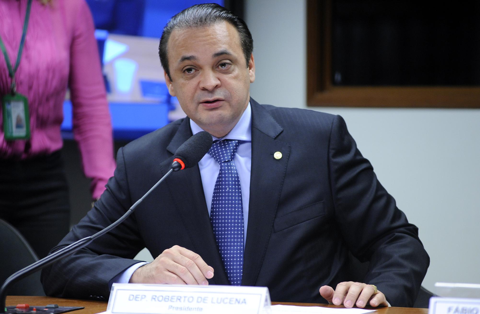 Audiência pública sobre a reforma previdenciária. Dep. Roberto de Lucena (PV-SP)