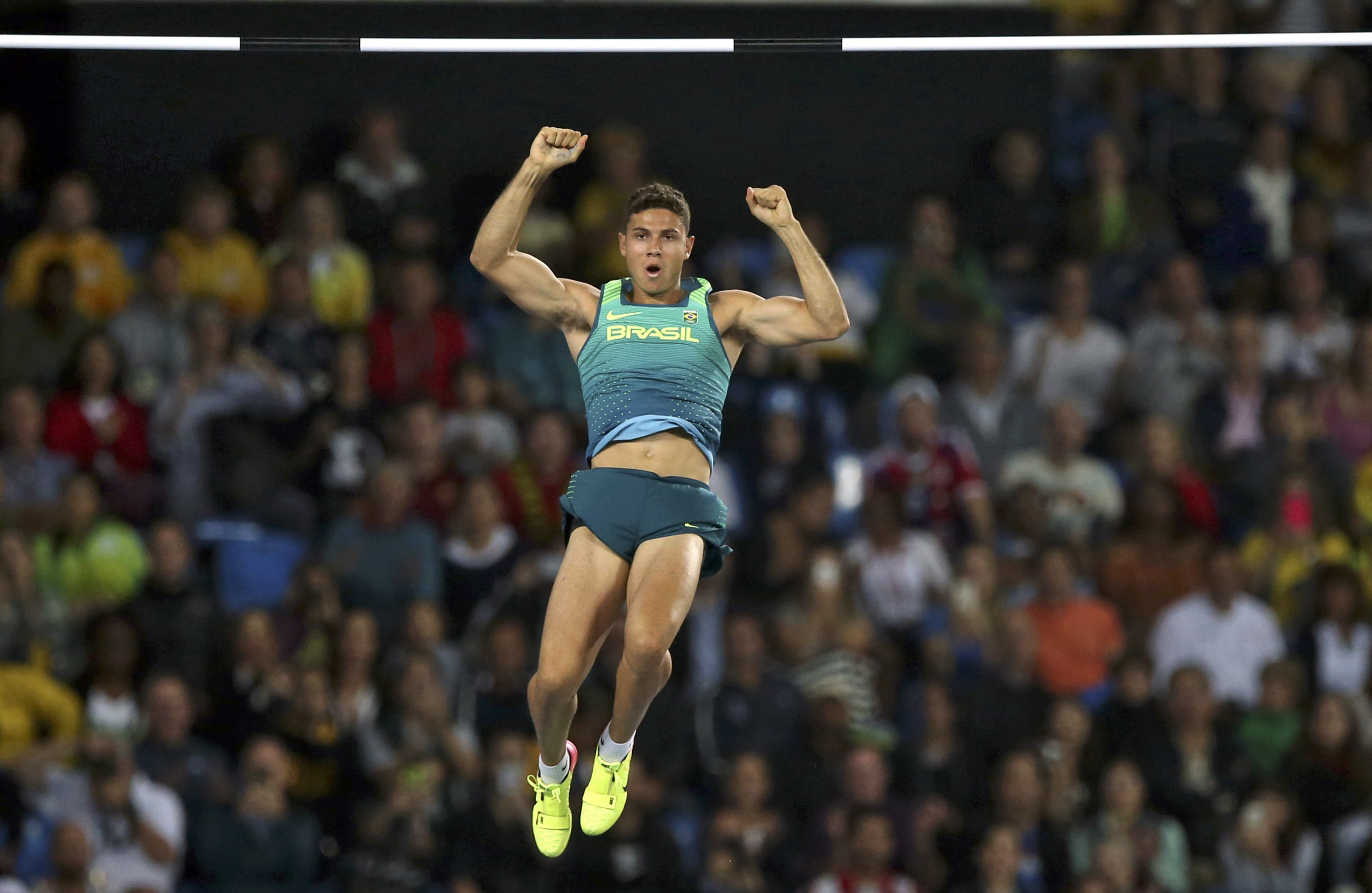 Esporte - olimpíadas - jogos olímpicos - rio de janeiro - Tiago Braz - ouro