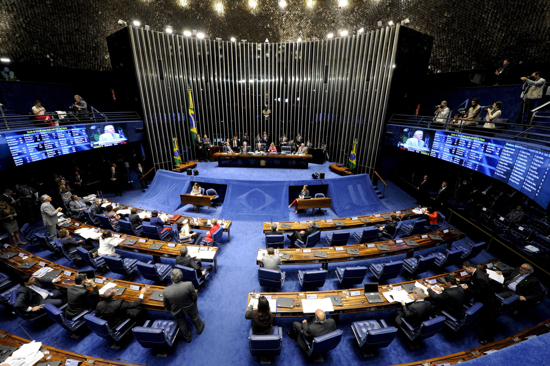 Política - impeachment - julgamento no plenário Senado Lewandowski