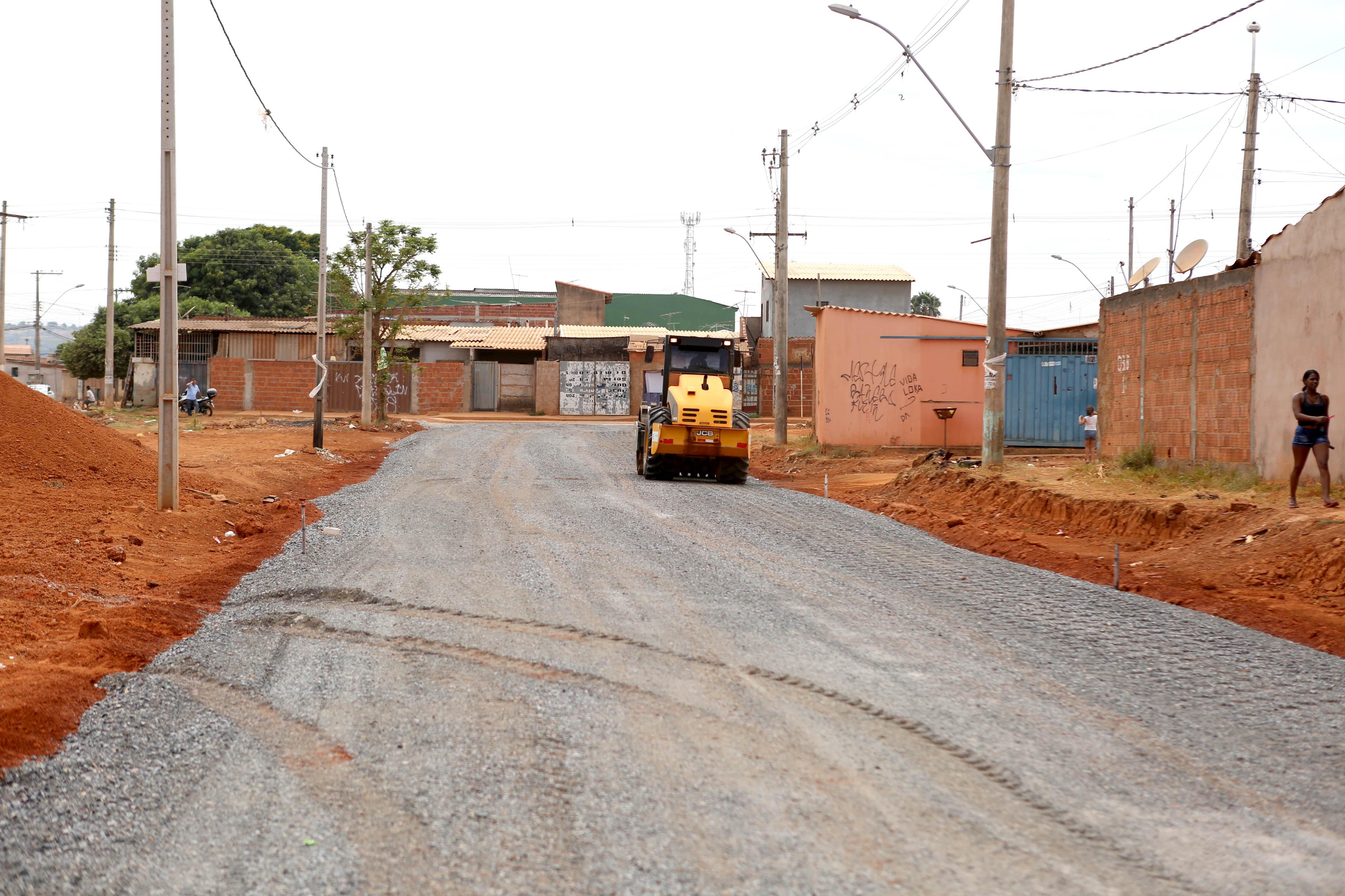 Cidades - infraestrutura - pavimentação obras públicas urbanização