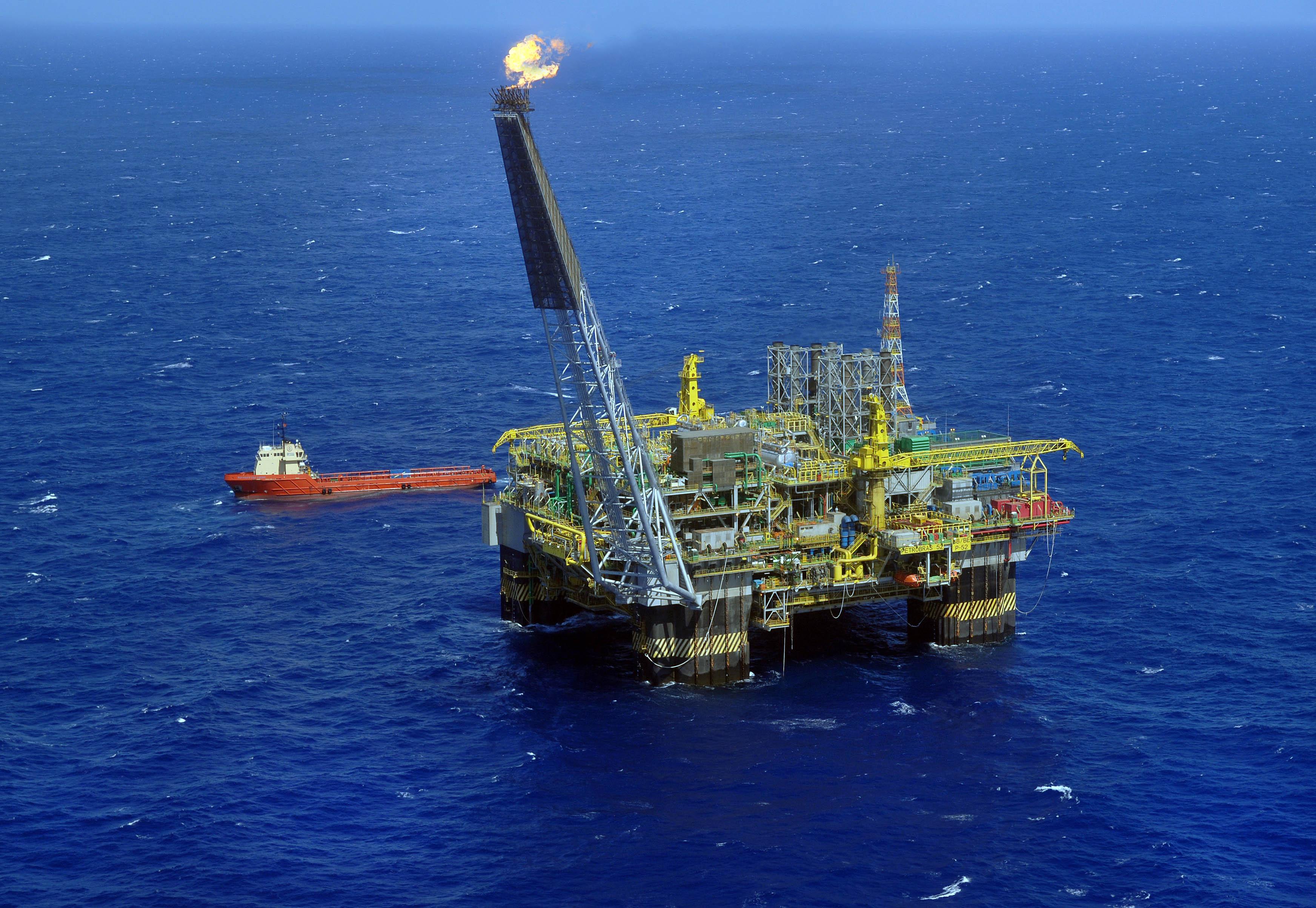 Energia - petrobras - plataforma Petrobras petróleo pré-sal exploração combustíveis