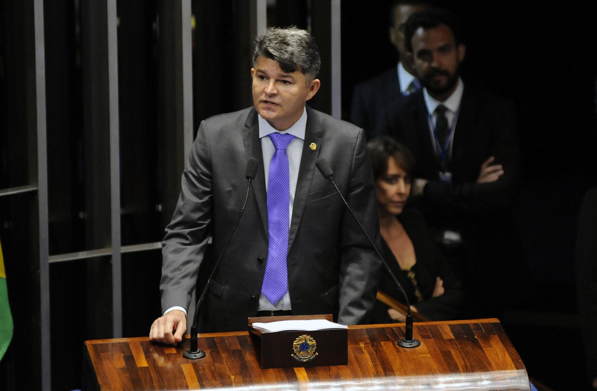 Eleições para a presidência do Senado Federal. Sen. José Medeiros (PSD) candidato a presidência