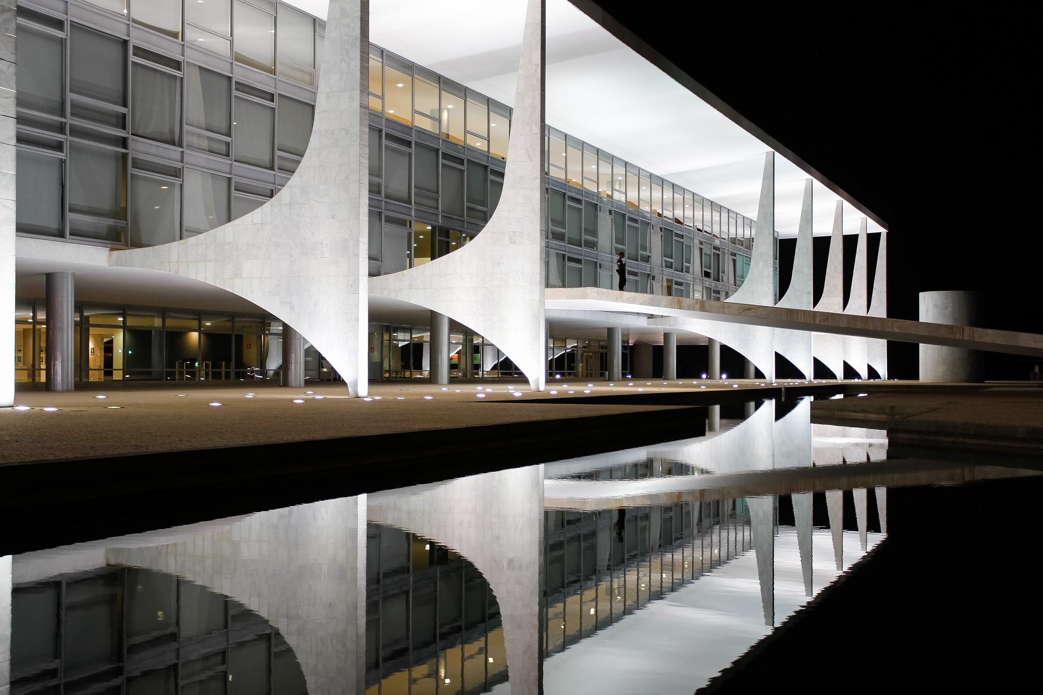 Brasília - monumentos e prédios públicos - Palácio do Planalto