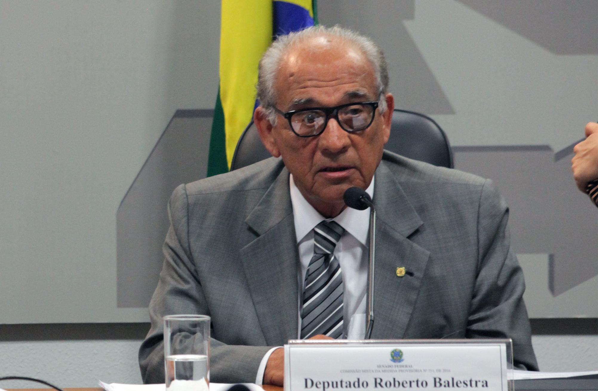 Comissão Mista sobre a MP 751/16, que cria o programa Cartão Reforma. Dep. Roberto Balestra (PP - GO)