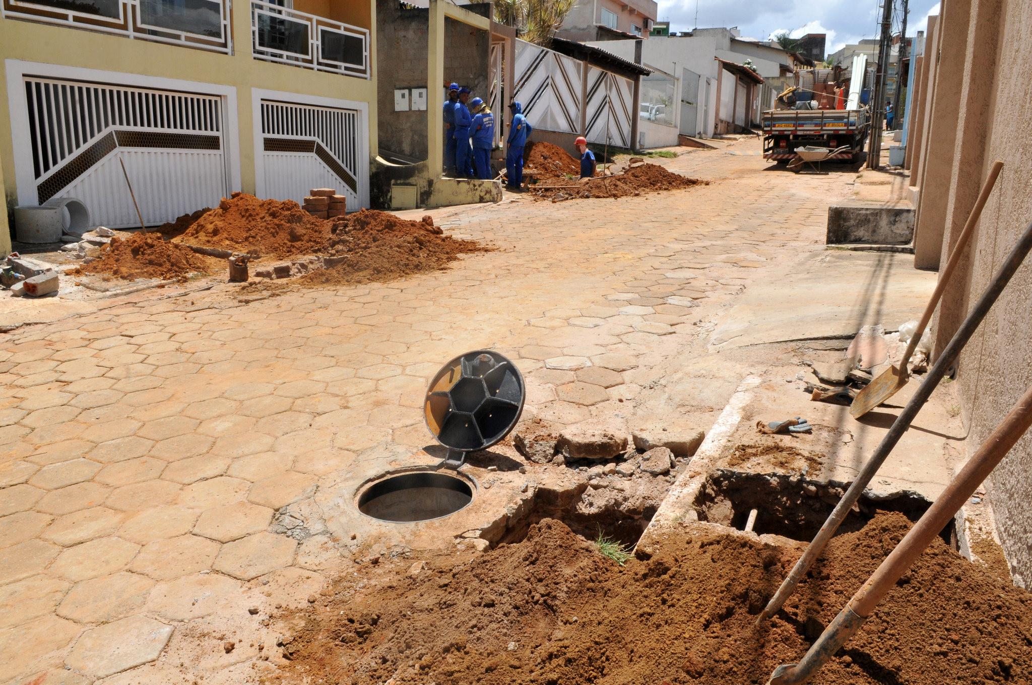 Cidades - infraestrutura - saneamento básico águas pluviais esgotos