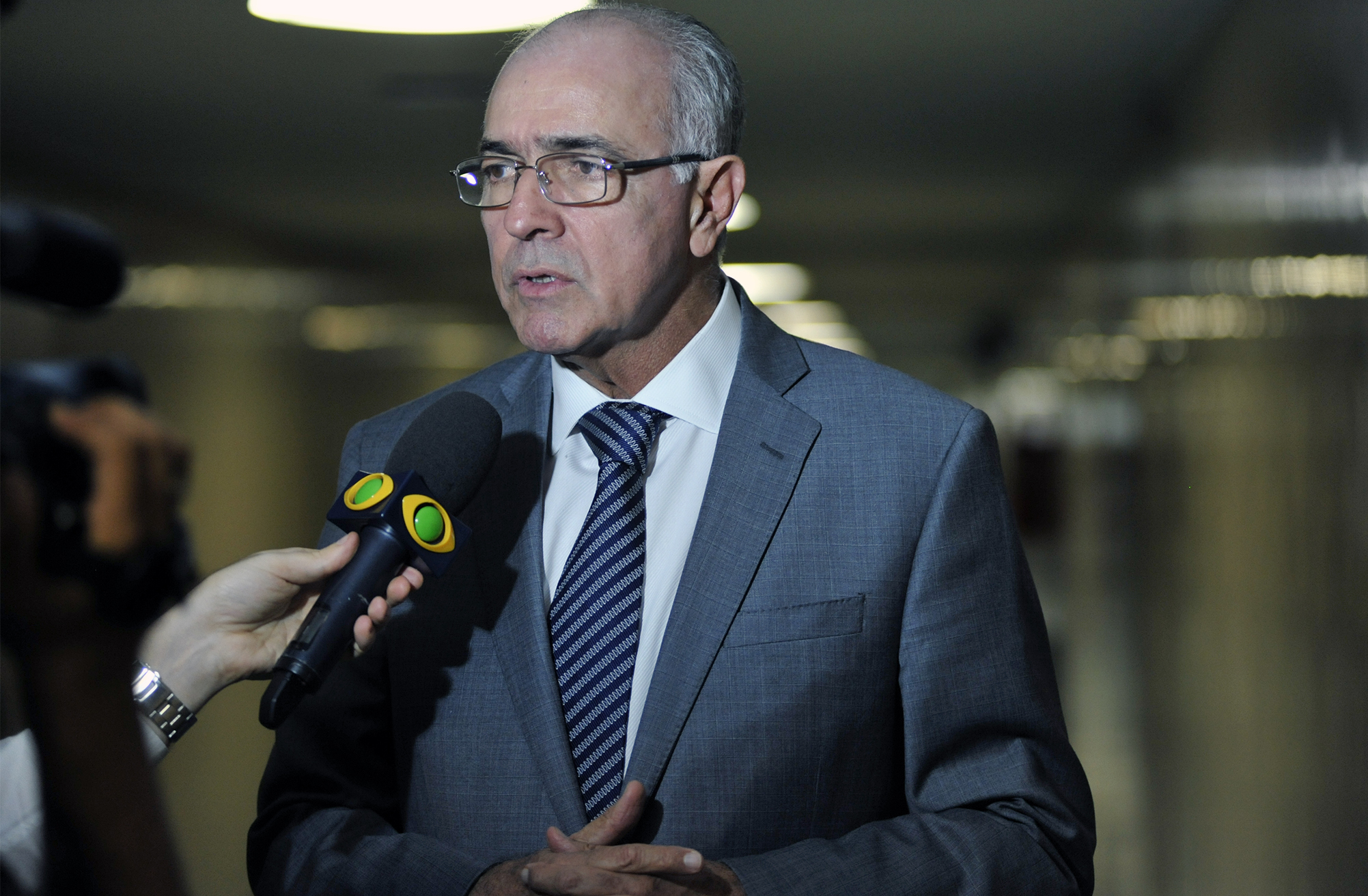 Dep. José Carlos Aleluia (DEM - BA) concede entrevista