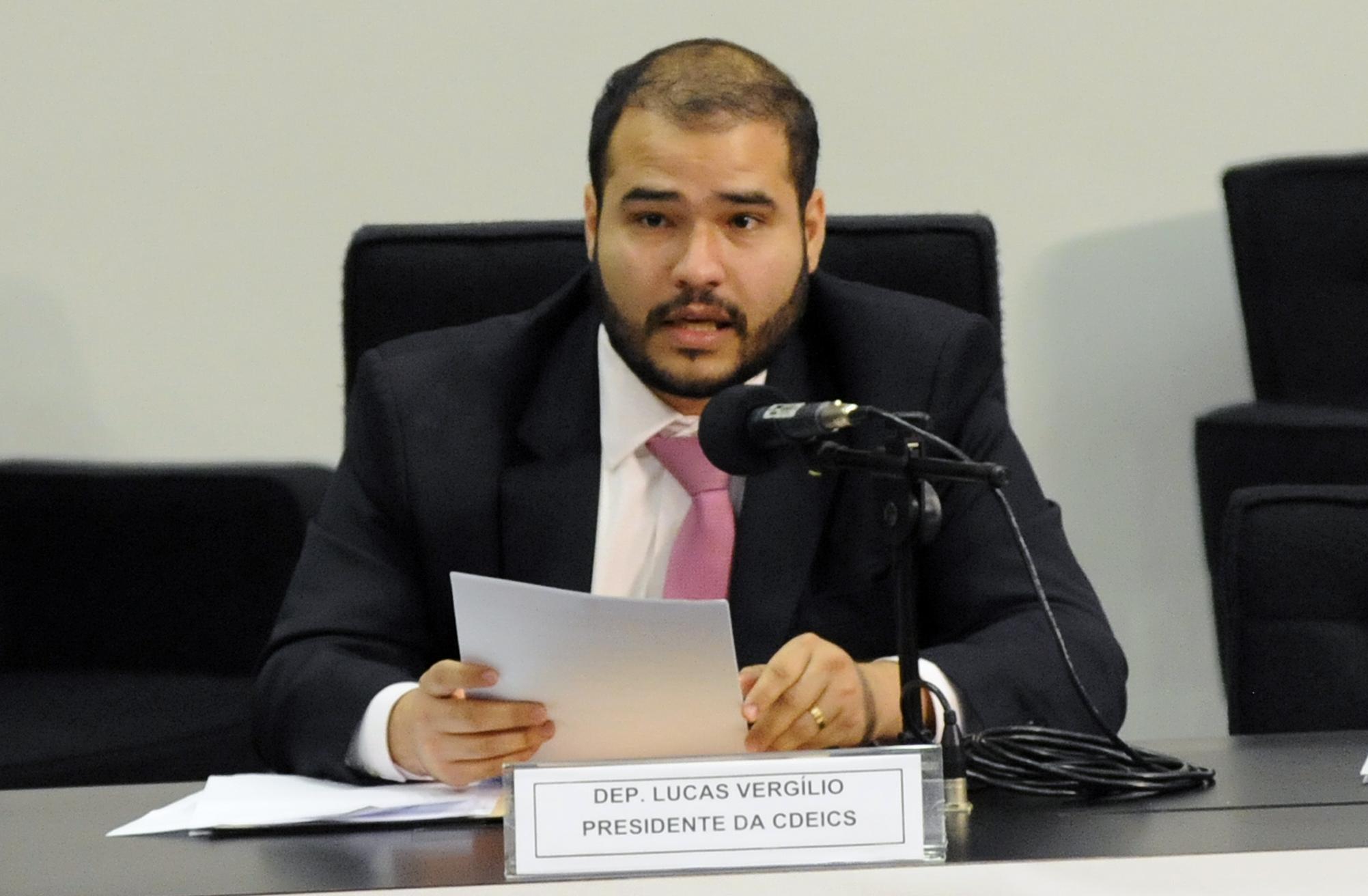 Audiência pública para debater a situação dos permissionários lotéricos do Brasil. Dep. Lucas Vergilio (SD - GO)