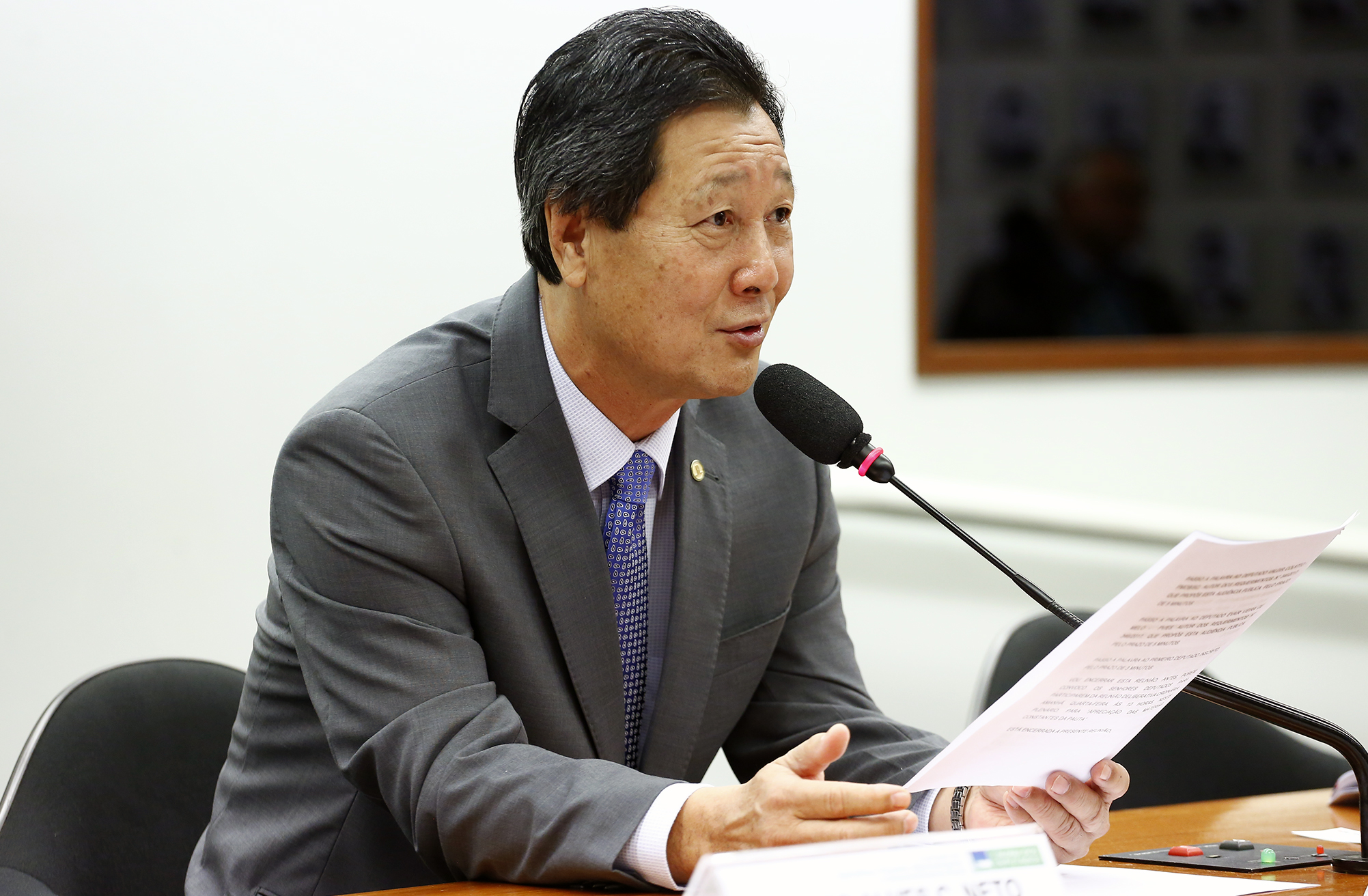Audiência Pública e Reunião Ordinária. Dep. Luiz Nishimori (PR - PR)