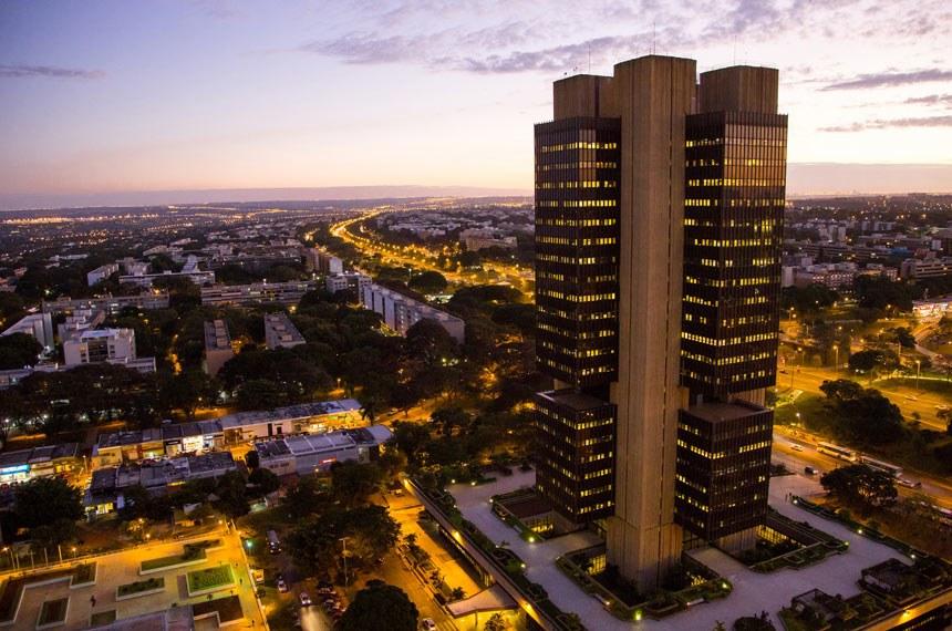 Administração Pública - Economia - Bancos - Edifício-sede do Banco Central do Brasil, em Brasília (DF)