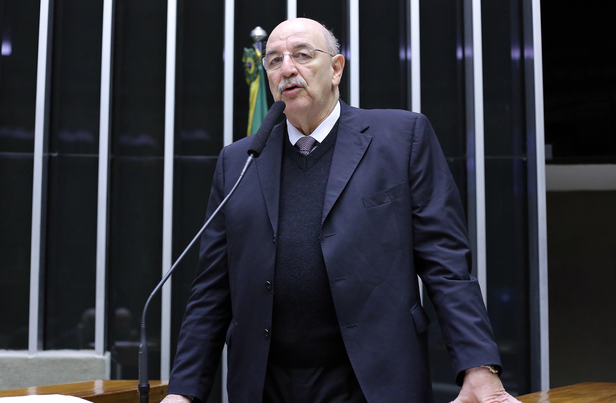 Sessão solene em homenagem aos 150 Anos da Sociedade de Ginástica de Porto Alegre. Osmar Terra, Ministro do Desenvolvimento Sócial