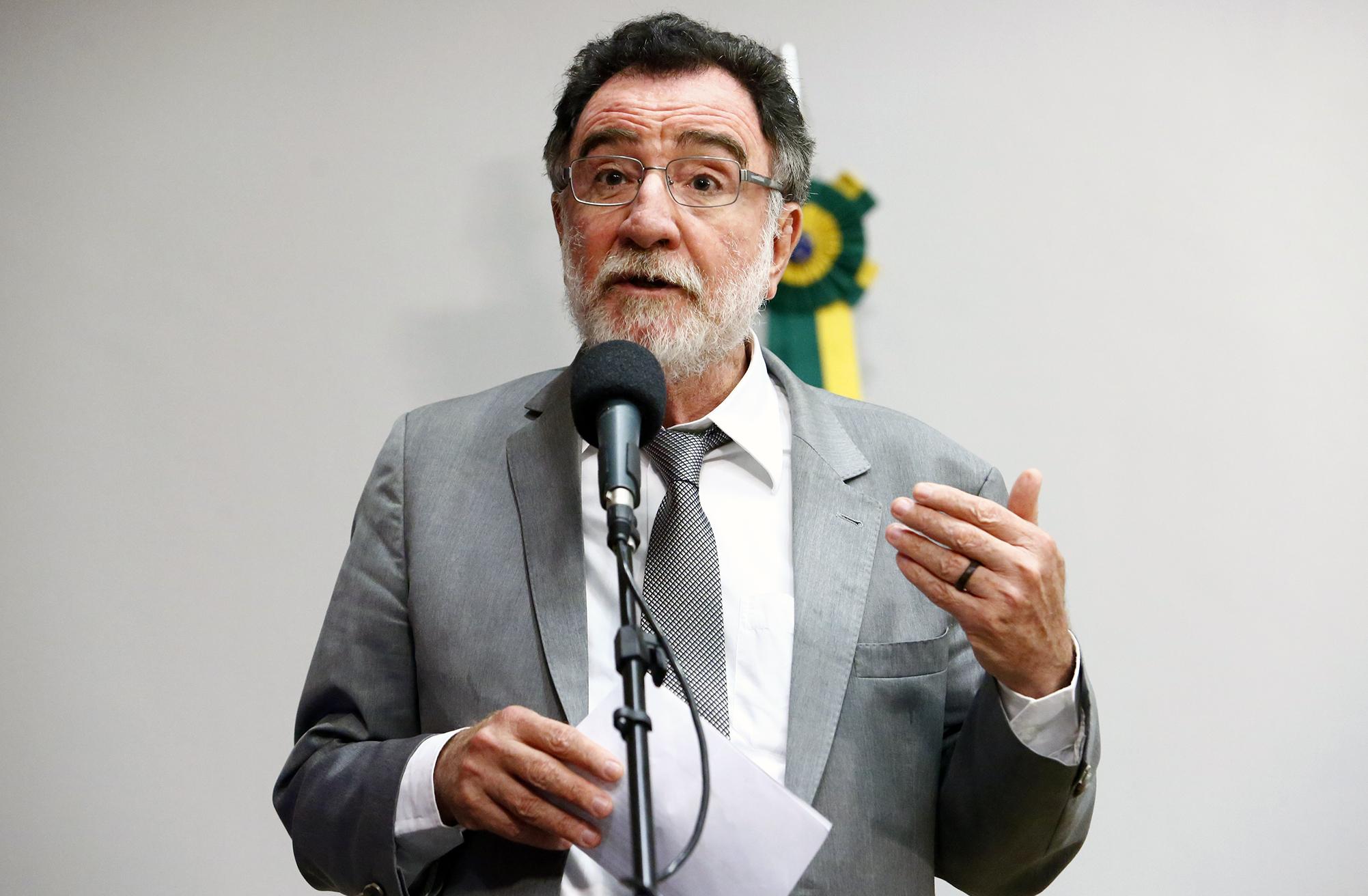 Lançamento da Rede Parlamentar em Defesa da Soberania Energética e Nacional. Dep. Patrus Ananias (PT - MG)