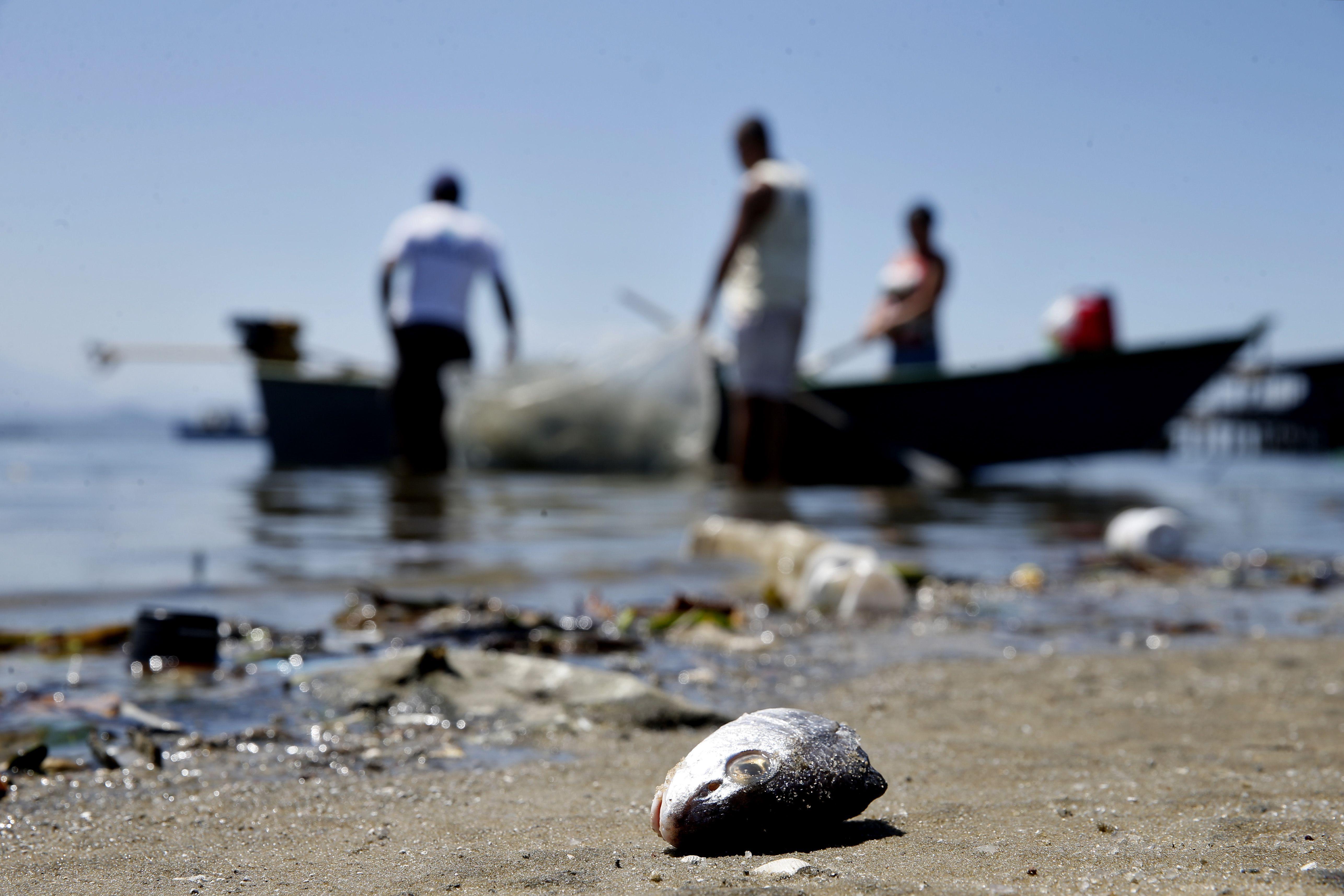 Meio Ambiente - água - poluição mar oceano rios dejetos lixos