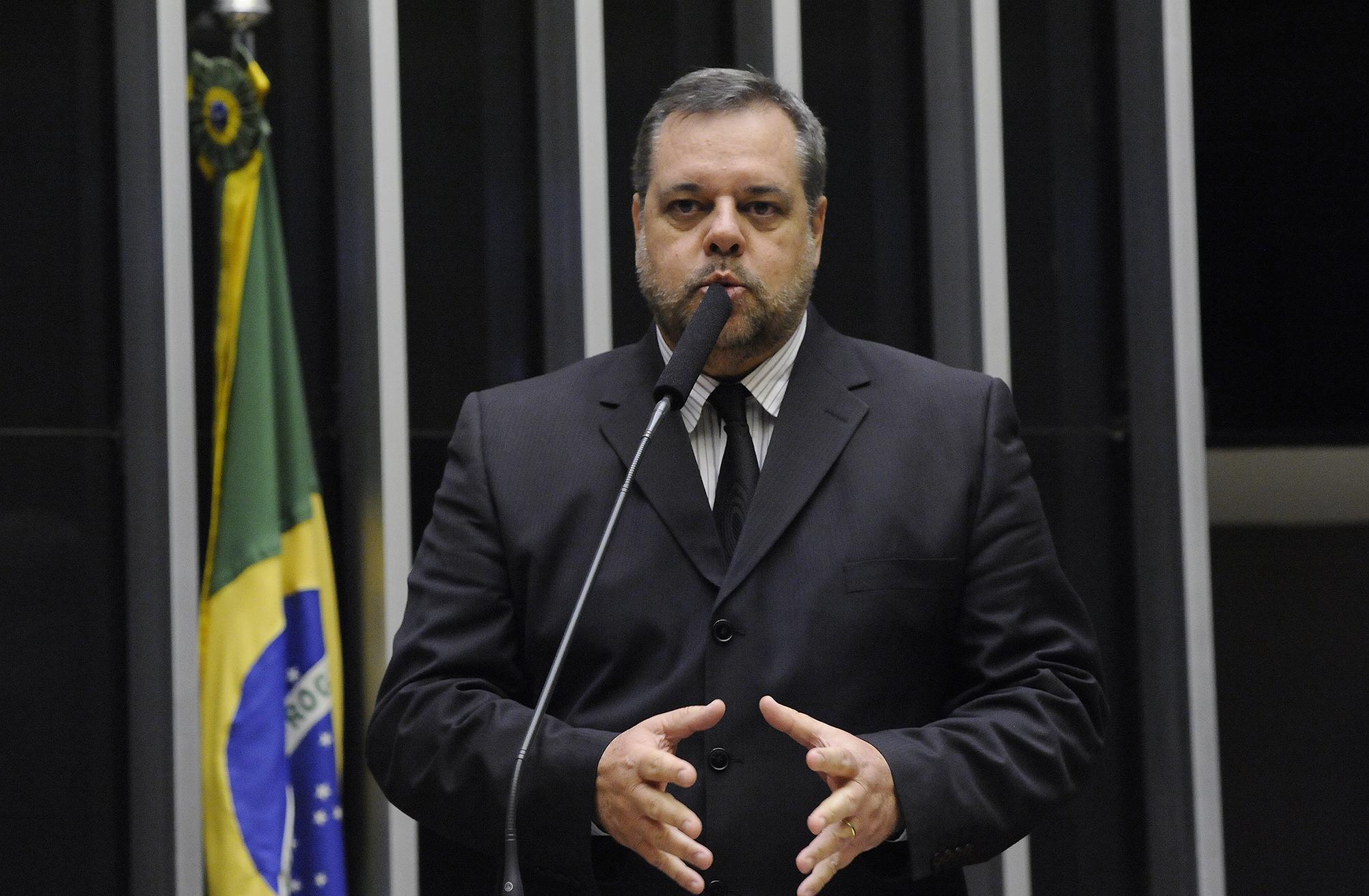 Sessão Solene de posse dos deputados jovens e eleição da Mesa Diretora do PJB 2017. Dep. Lobbe Neto(PSDB - SP)