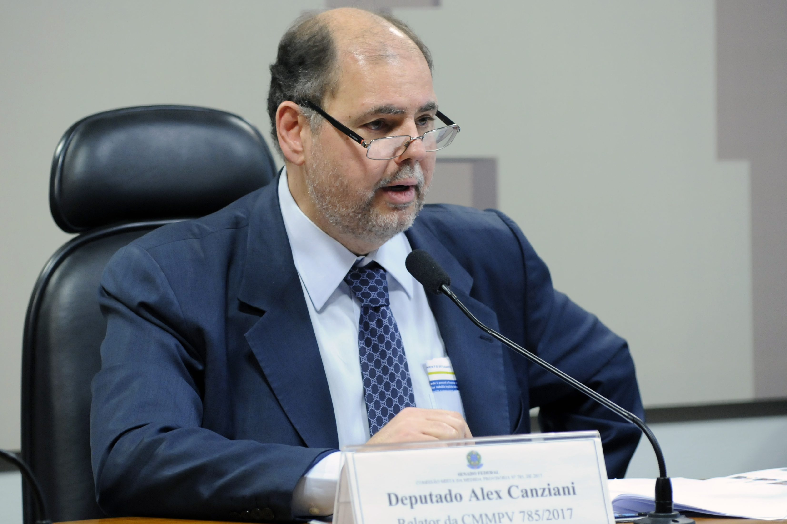 Comissão Mista sobre a MP 785/17, que modifica as regras do Fundo de Financiamento Estudantil (Fies). Dep. Alex Canziani (PTB - PR)