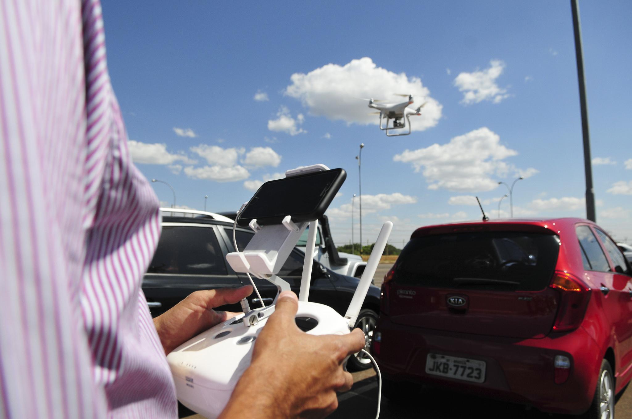 Tecnologia - geral - drones imagens transmissão