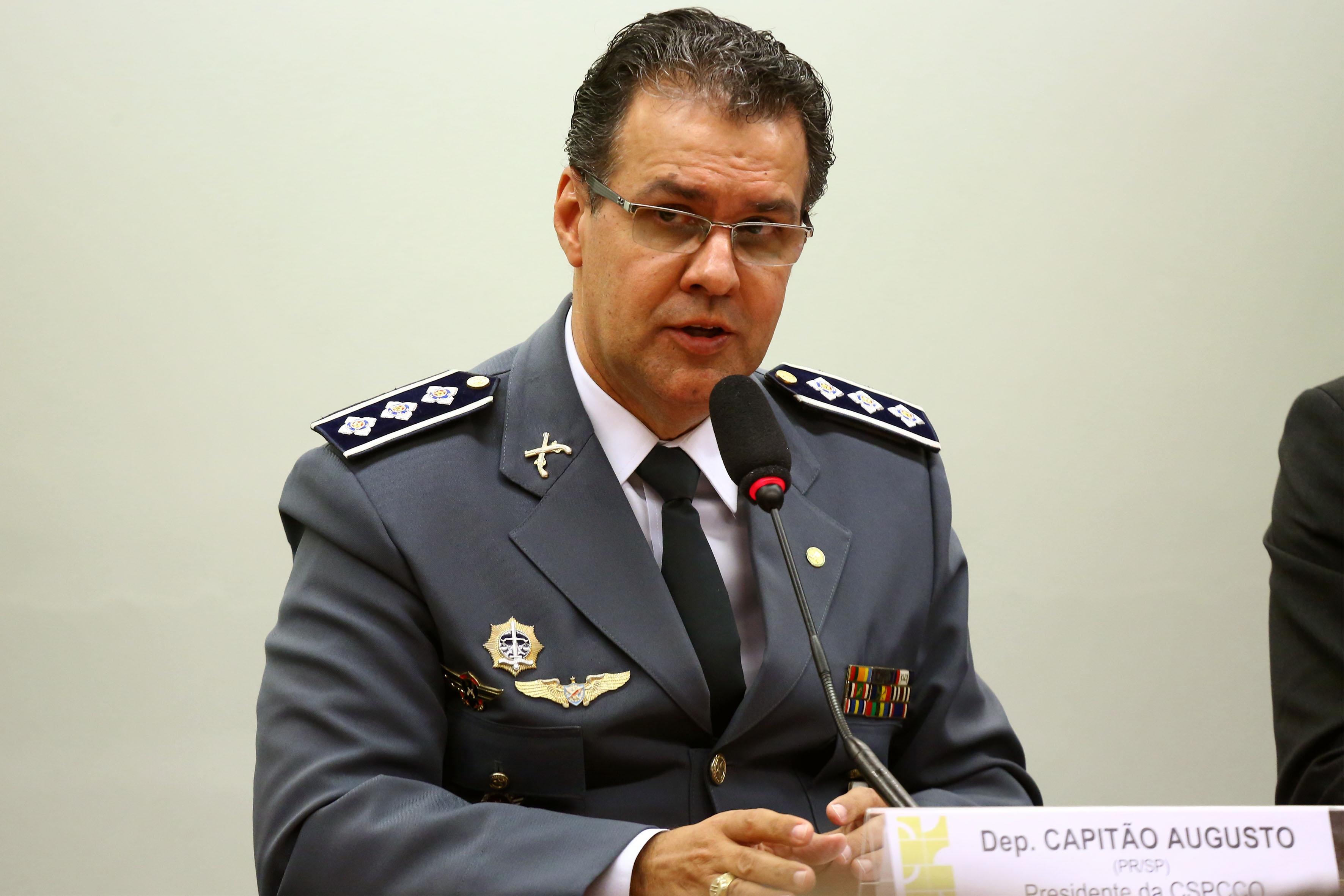 Audiência pública para debater temas referentes à lavratura do Termo Circunstanciado de Ocorrência. Dep. Capitão Augusto (PR - SP)