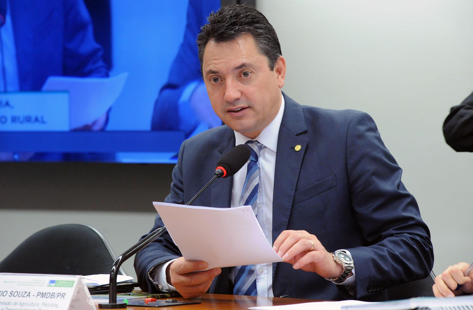 Reunião Ordinária. Dep. Sergio Souza (PMDB - PR)