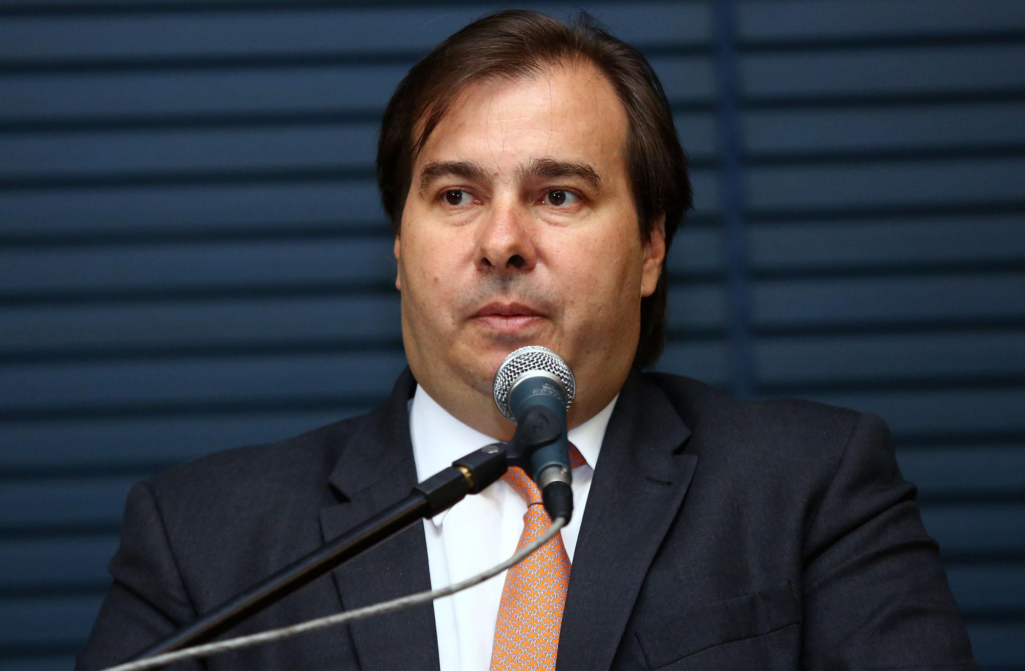 Lançamento - Coleção João Camilo de Oliveira Torres. Presidente da Câmara, dep. Rodrigo Maia (DEM-RJ)