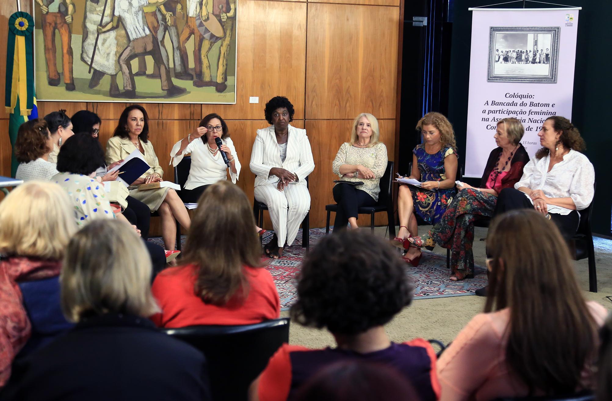 Colóquio: A Bancada do Batom e a Participação Feminina na Assembleia Nacional Constituinte de 1987 – 1988