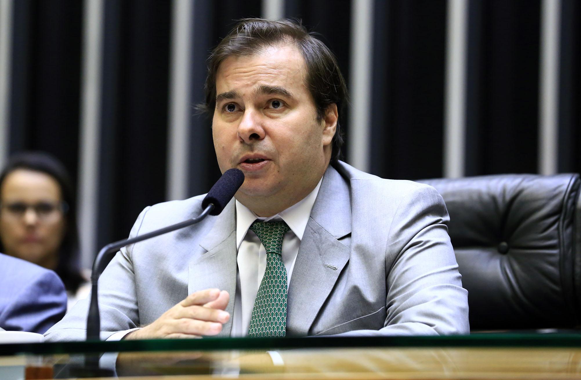 Homenagem aos 157 Anos da Caixa Econômica Federal. Presidente da Câmara, dep. Rodrigo Maia (DEM-RJ)