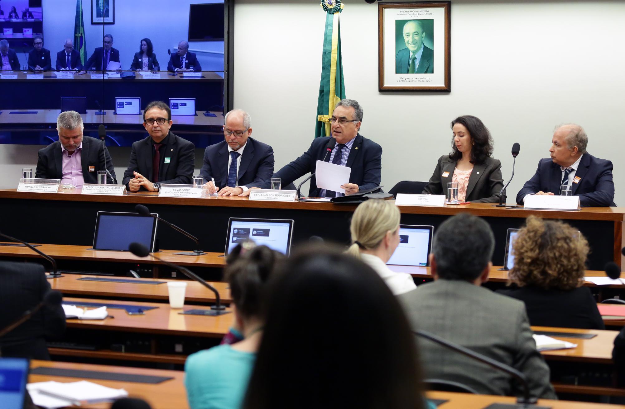 Audiência pública para averiguar o possível desastre ambiental em Barcarena/PA