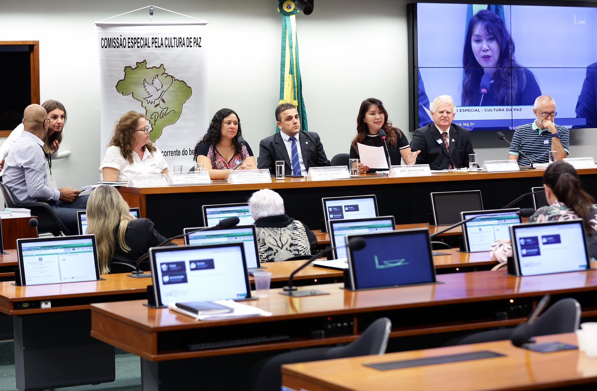 Audiência pública e reunião ordinária sobre a Cultura da Paz nas Escolas