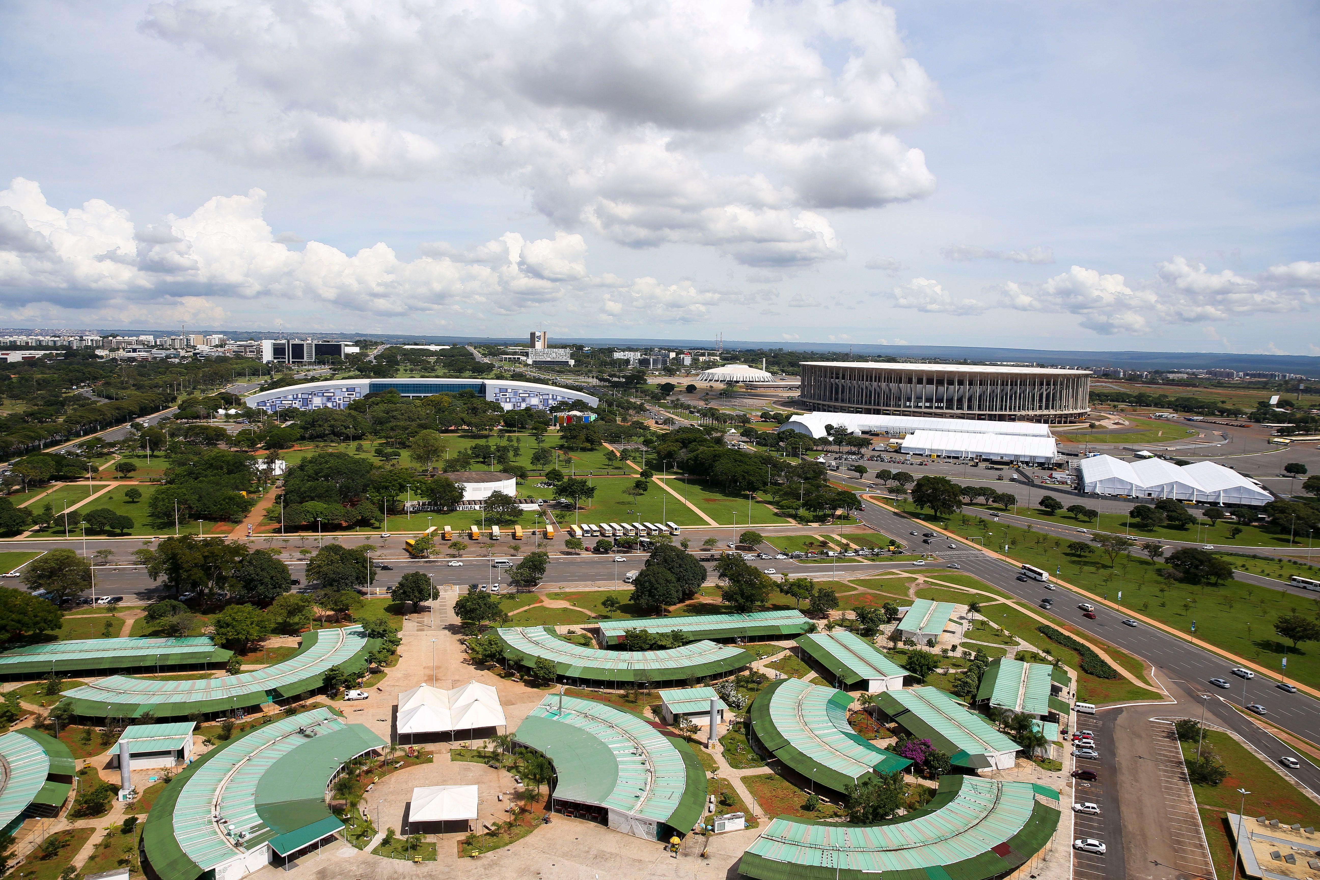 Estrutura para Fórum Mundial da Água recebe últimos ajustes