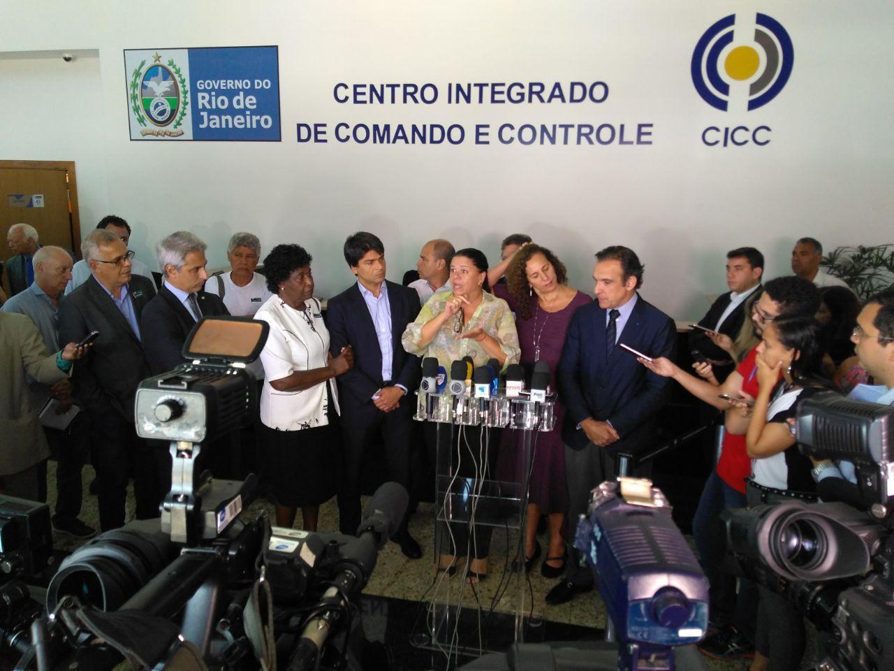Fotos do Dia - comissão externa intervenção federal segurança Rio de Janeiro Olerj