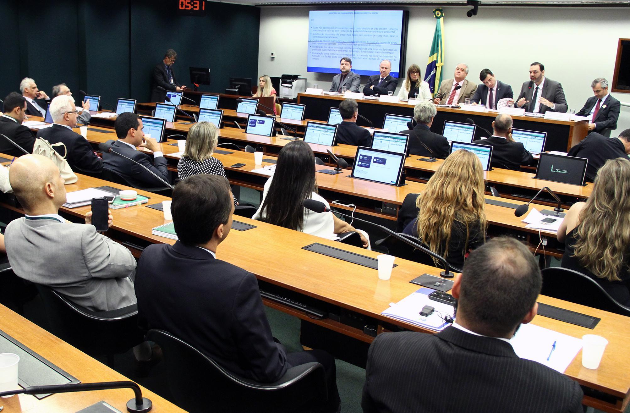 Audiência pública e reunião ordinária para debate sobre o PL 1292/1995 e apensados