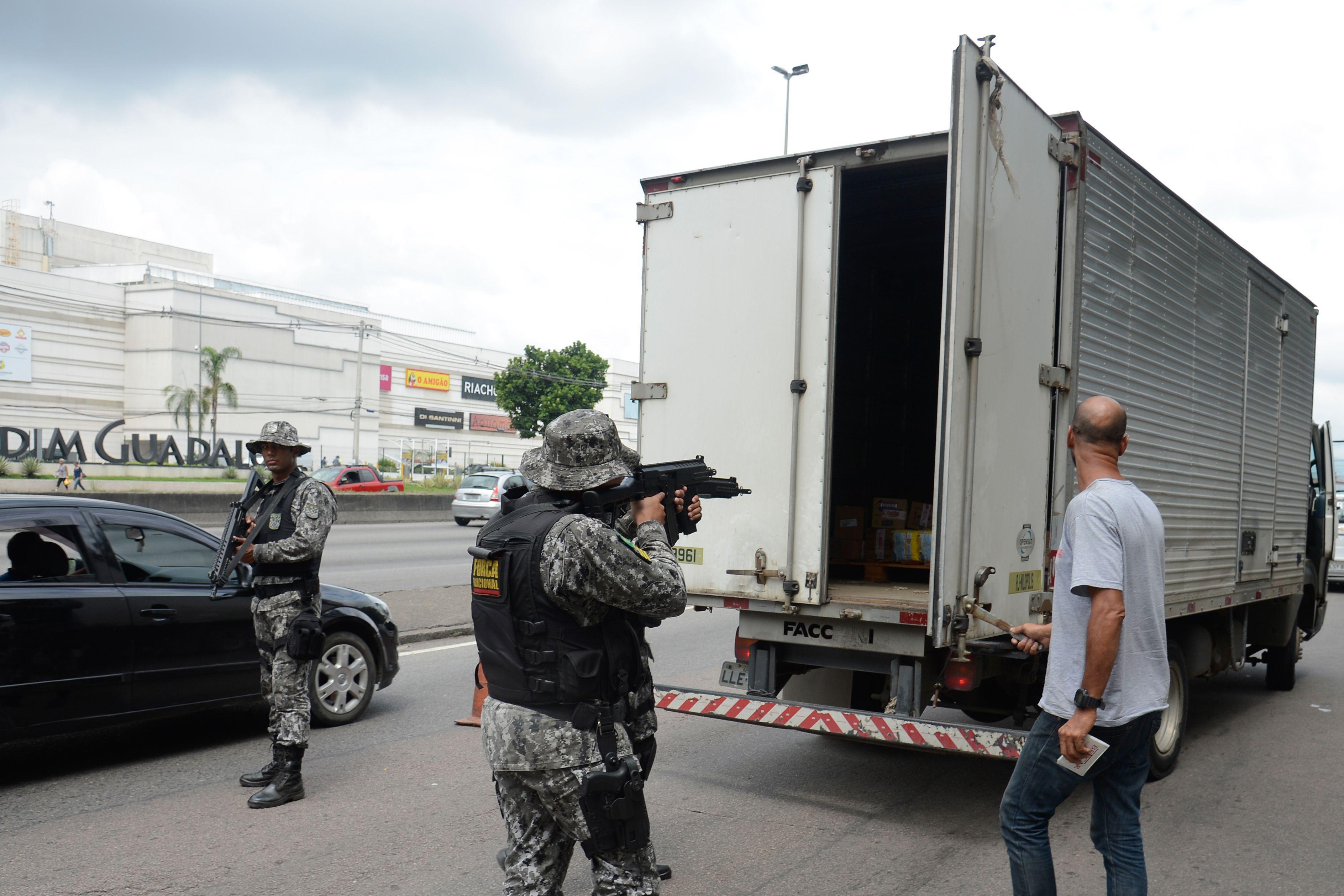 Segurança- geral - roubo de cargas Força Nacional fiscalização