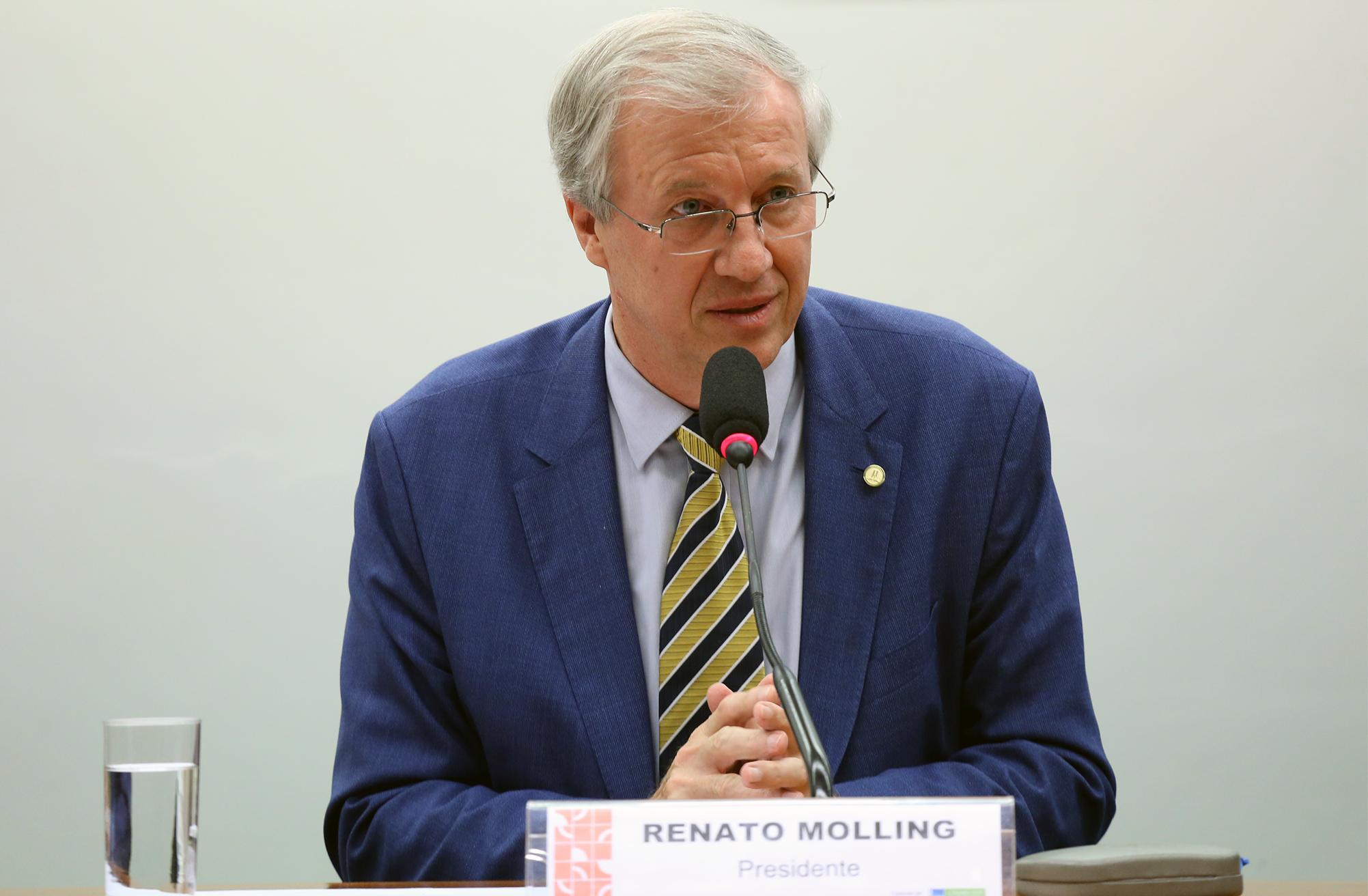 Instalação dos trabalhos e eleição dos Presidentes e Vice-Presidentes. Presidente eleito dep. Renato Molling (PP - RS)