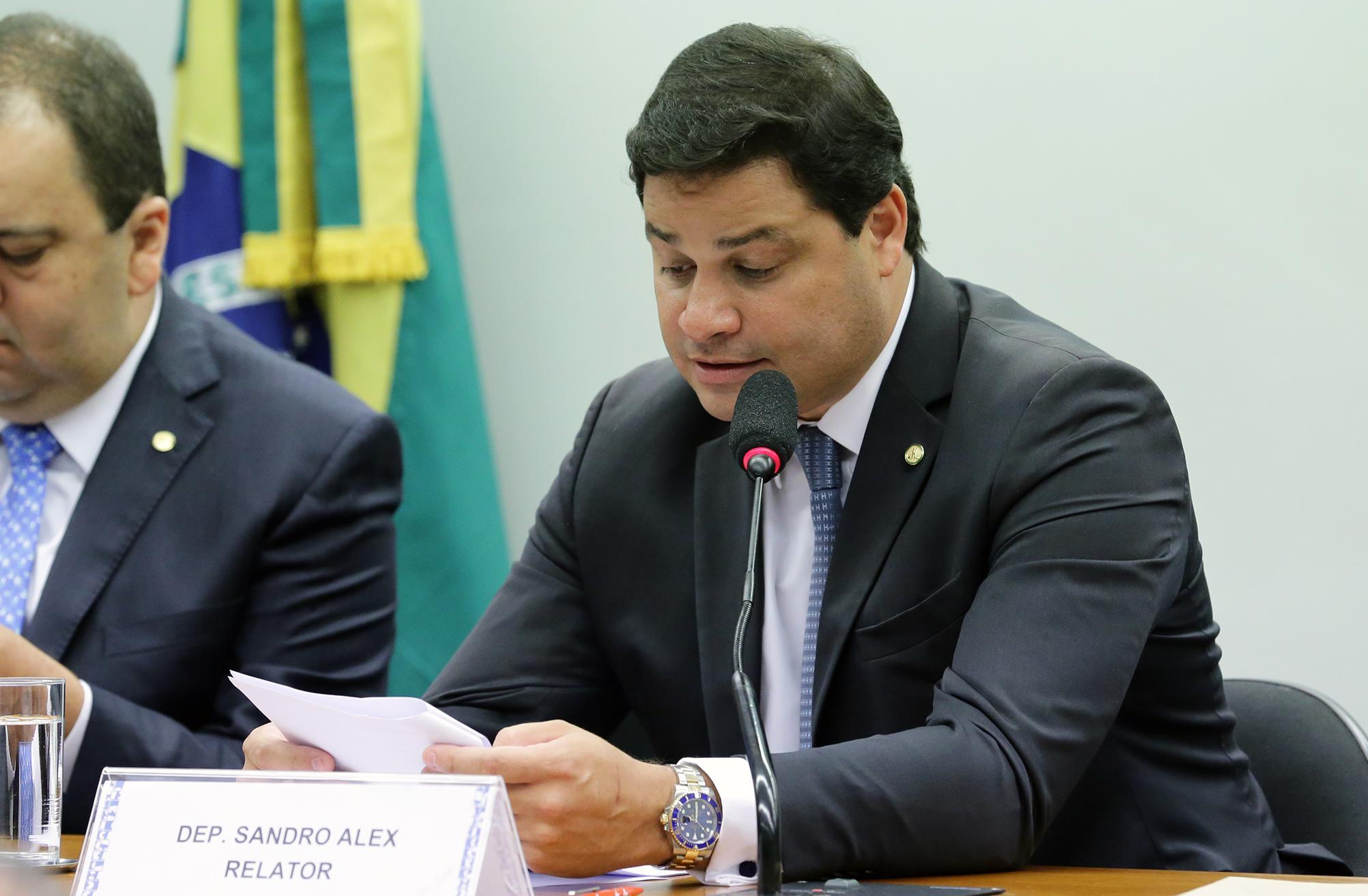Reunião Ordinária Deliberativa. Dep. Sandro Alex (PSD - PR)