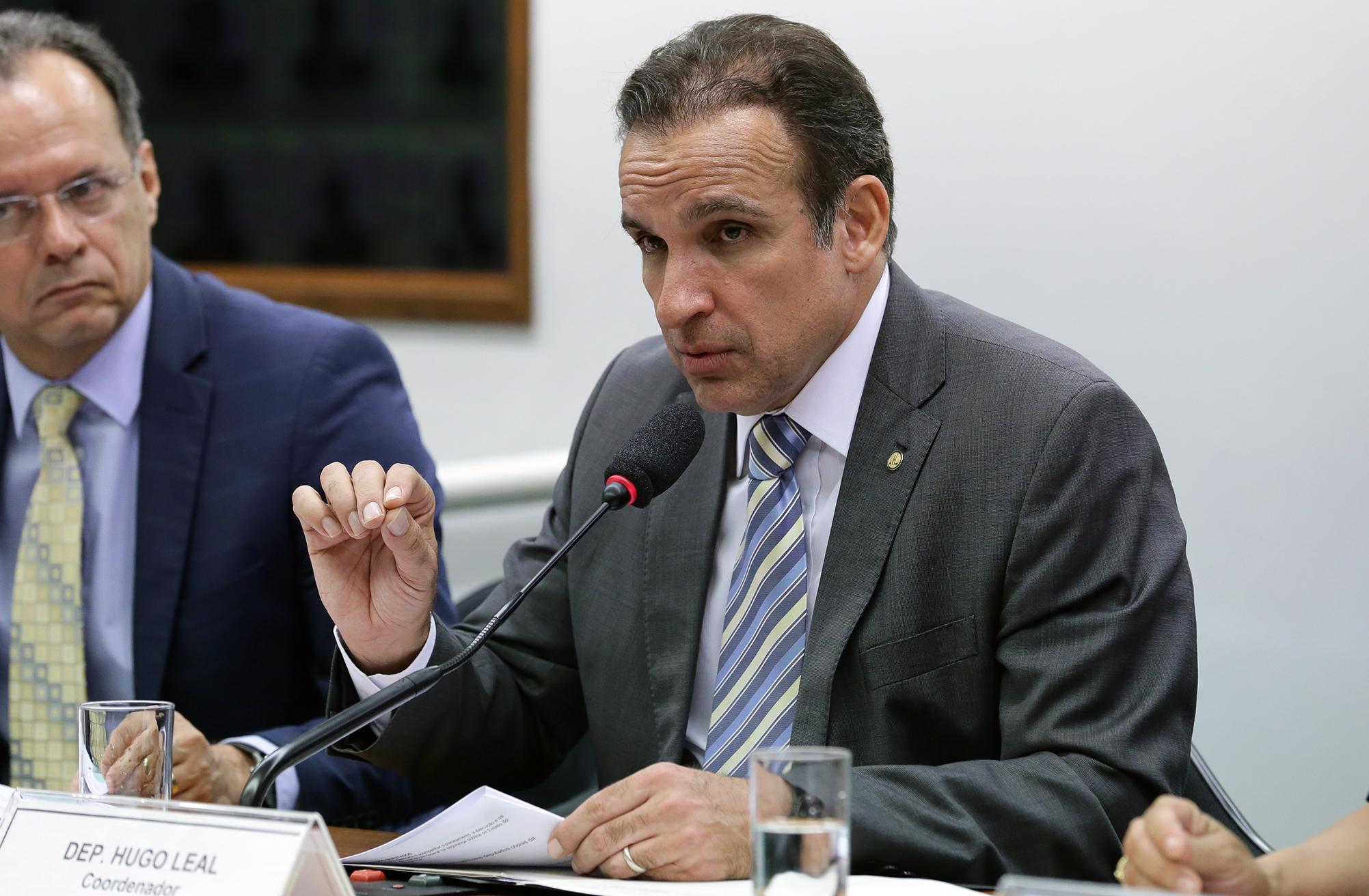 Audiência pública sobre o orçamento da segurança pública no Estado do Rio de Janeiro. Dep. Hugo Leal (PSB - RJ)