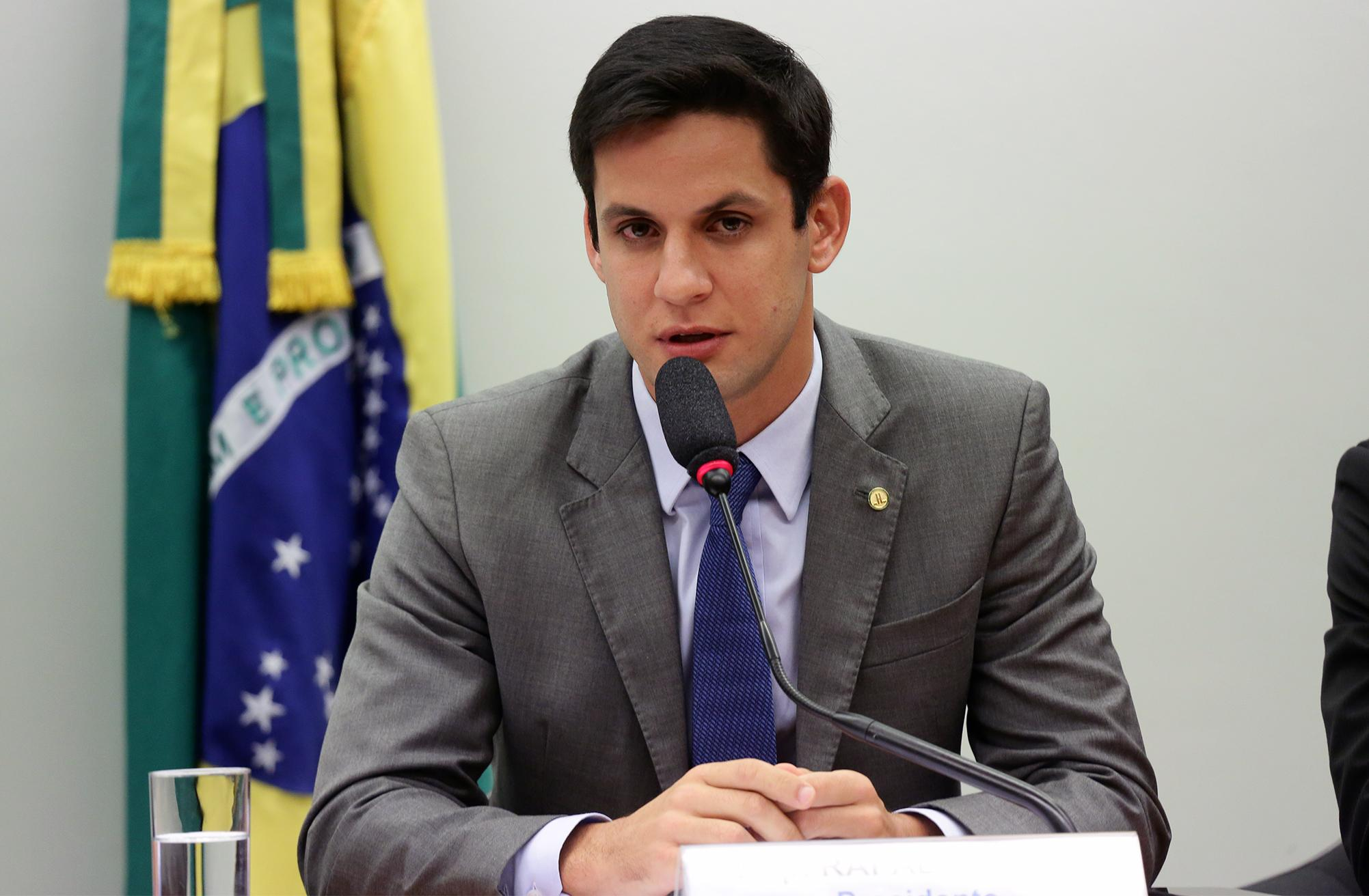 Instalação dos trabalhos e eleição dos Presidentes e Vice-Presidentes. Dep. Rafael Motta (PSB - RN)