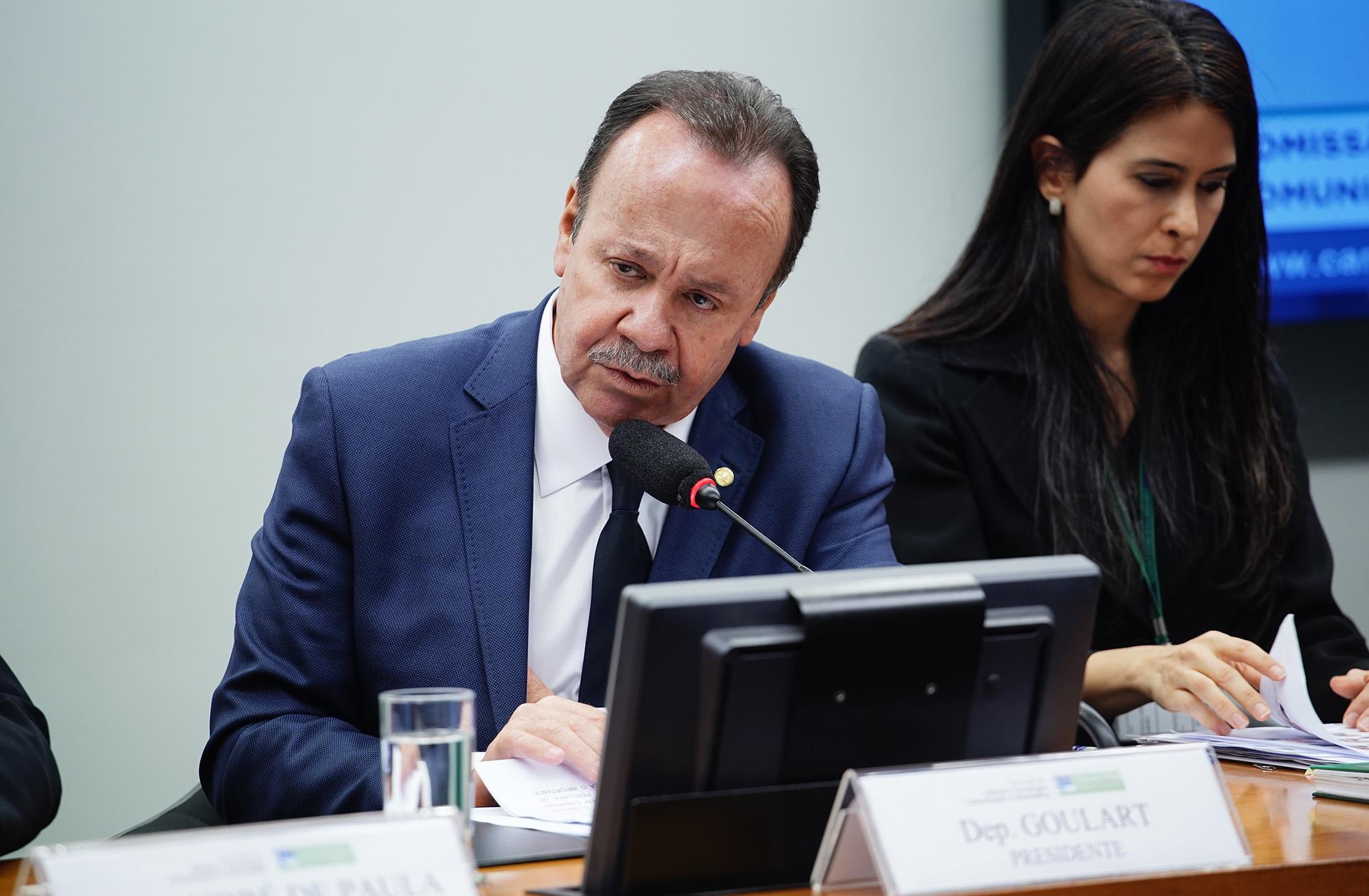 Instalação dos trabalhos e eleição dos Presidentes e Vice-Presidentes das seguintes das Comissões . Dep. Goulart ( PSD - SP)