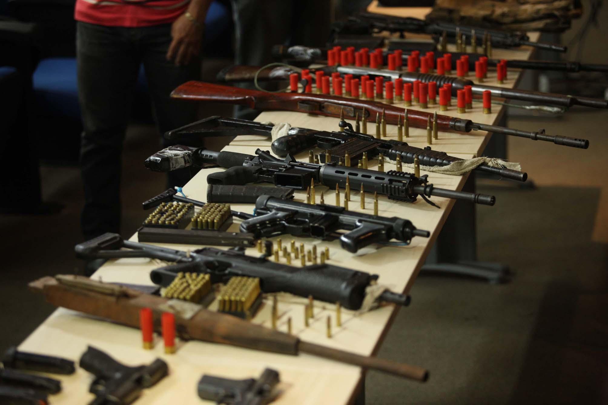 Segurança - armas - munições quadrilhas crime organizado apreensões operações policiais