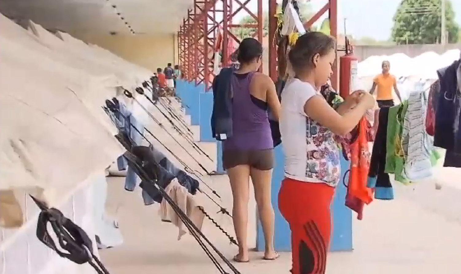 Relações  Exteriores - emigração - venezuelanos imigrantes refugiados Roraima Boa Vista abrigos ajuda humanitária