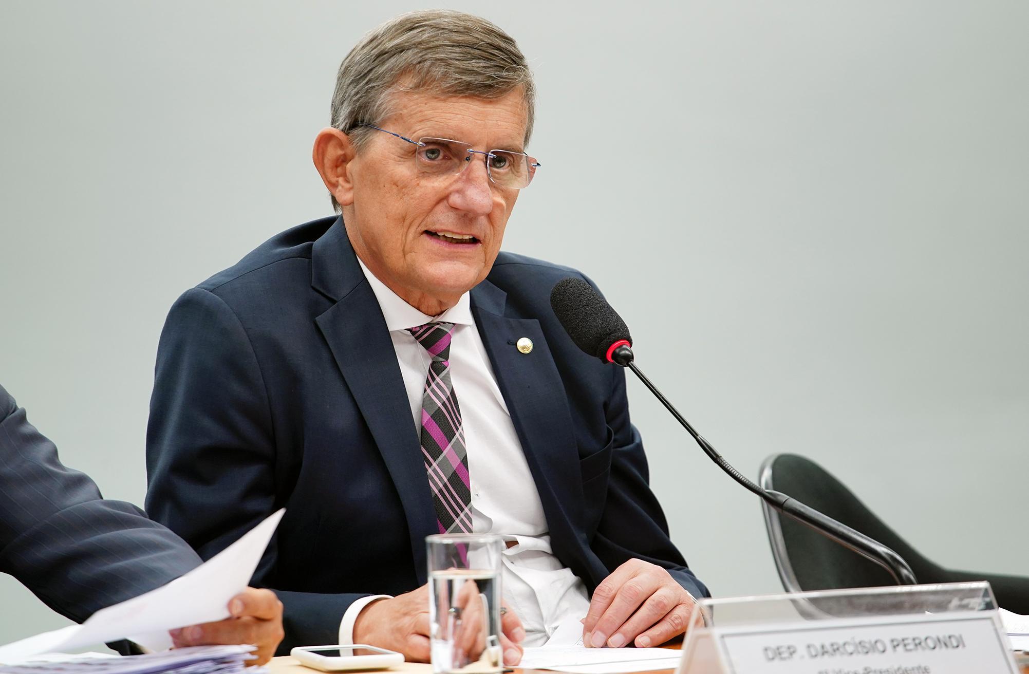 Audiência Pública  e Reunião Ordinária. Dep. Darcísio Perondi (PMDB - RS)