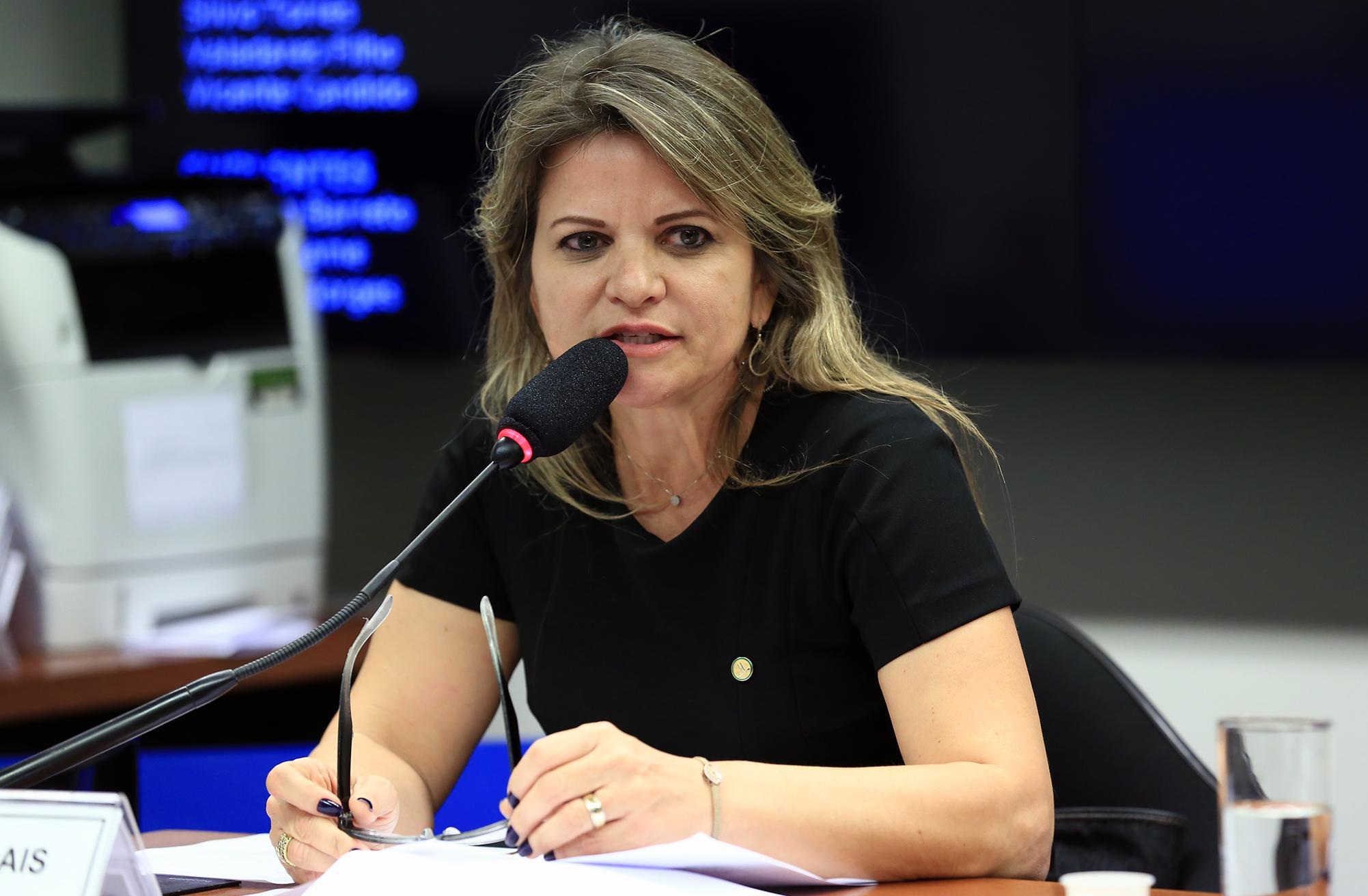 Audiência pública sobre o PL 6718/16, que redistribui recursos das lotéricas federais para o esporte. Dep. Flávia Morais (PDT - GO)