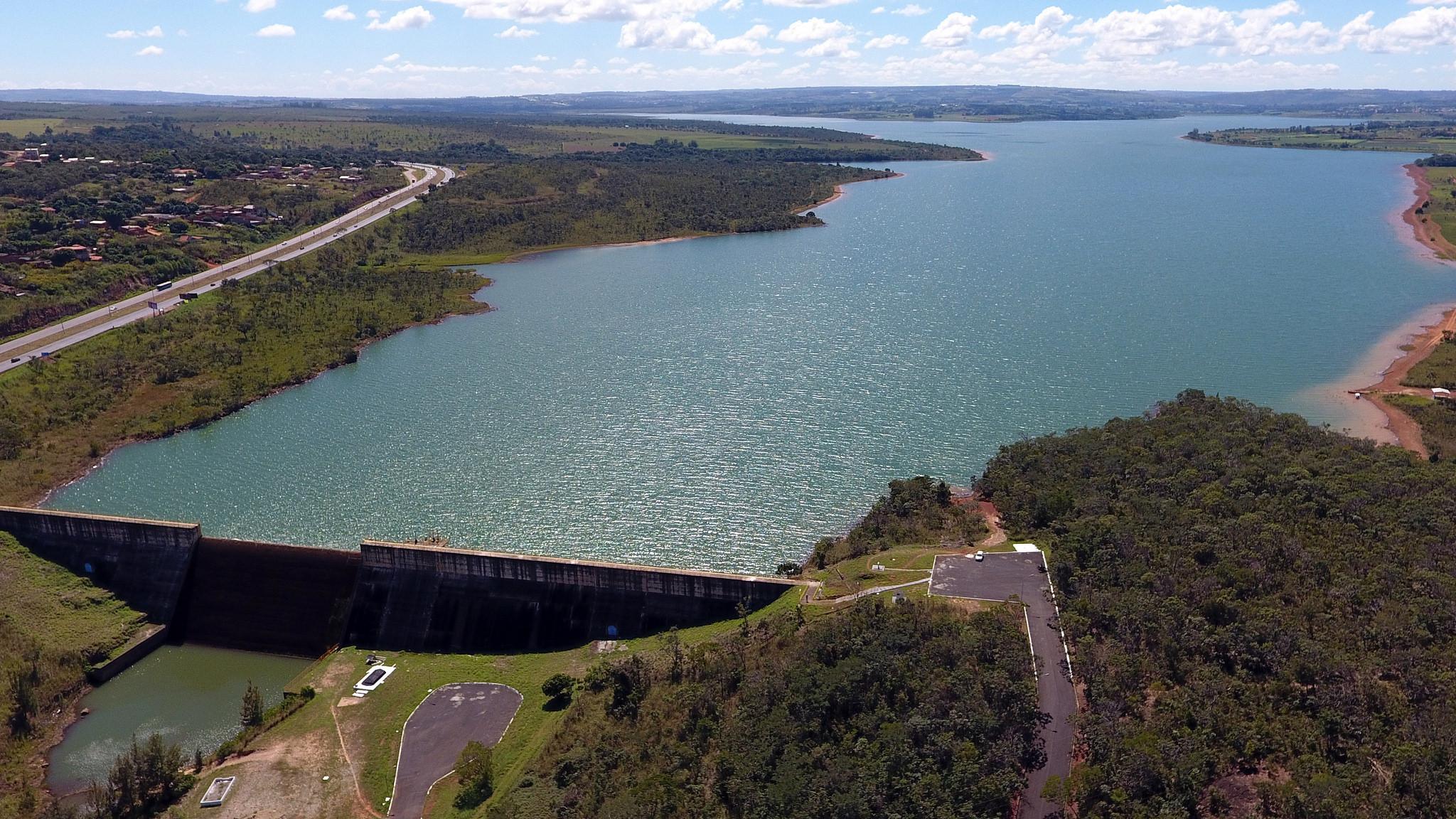 Meio Ambiente - água - Barragem do Descoberto DF 3/5/18 recursos hídricos abastecimento