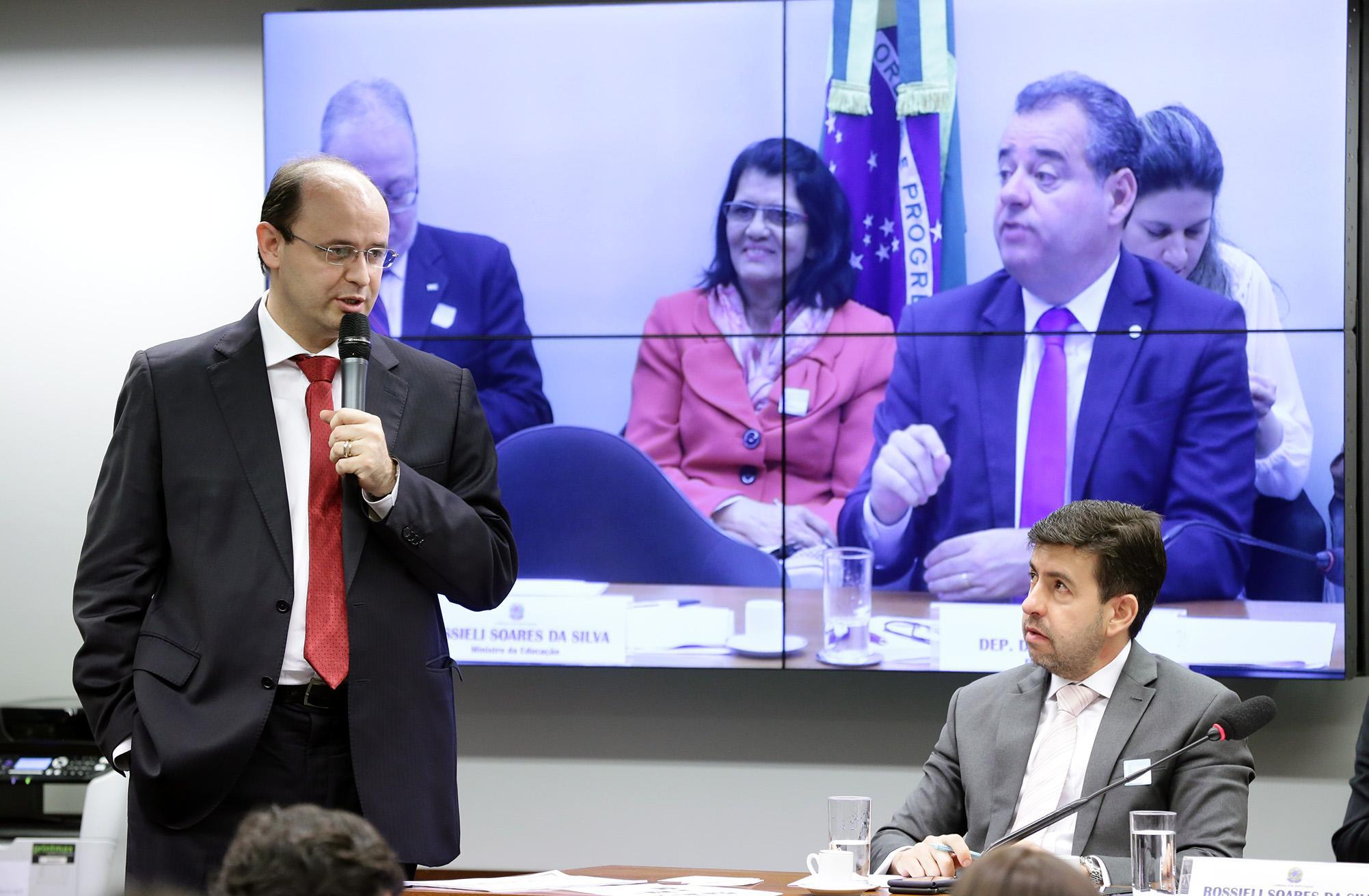 Reunião Ordinária. Ministro de Estado da Educação , Rossieli Soares da Silva