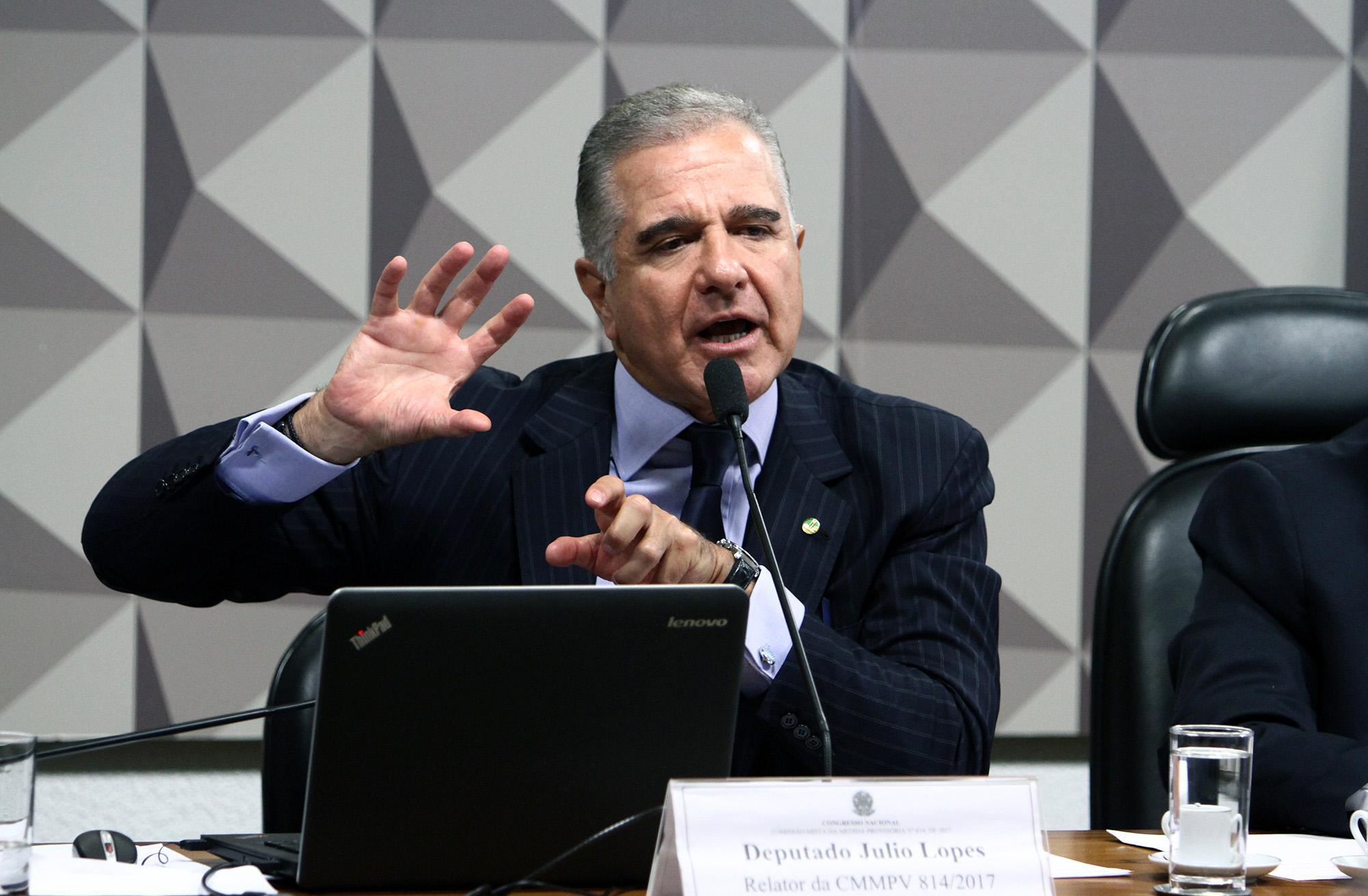Reunião Ordinária. Dep Julio Lopes ( PP-RJ)