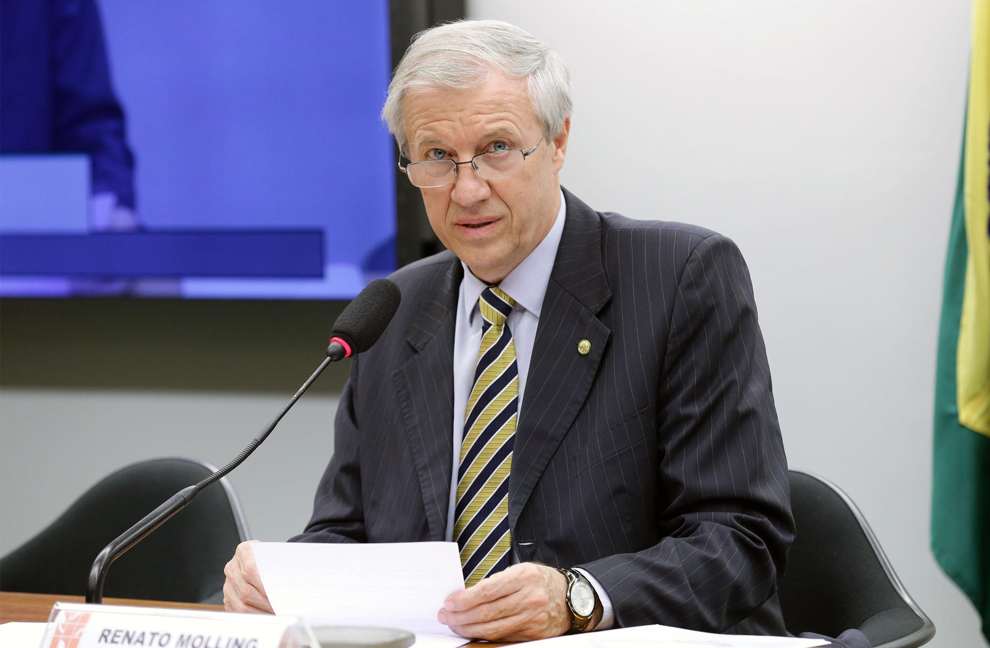 Audiência pública sobre a redução das alíquotas de importação para bens de capital e informática. Dep. Renato Molling (PP - RS)