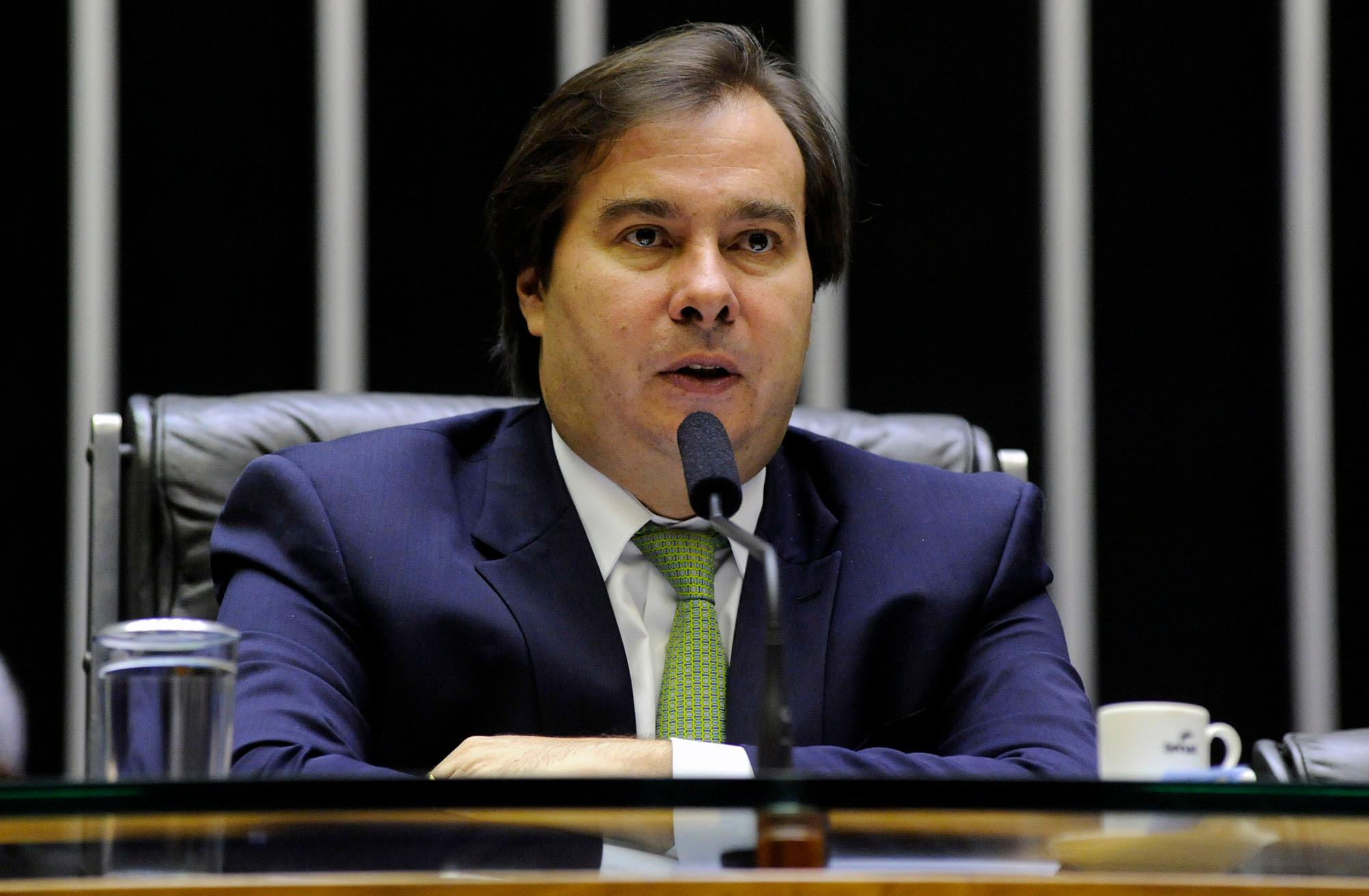 Homenagem Póstuma ao deputado Rômulo Gouveia. Presidente da câmara dep. Rodrigo Maia (DEM-RJ)