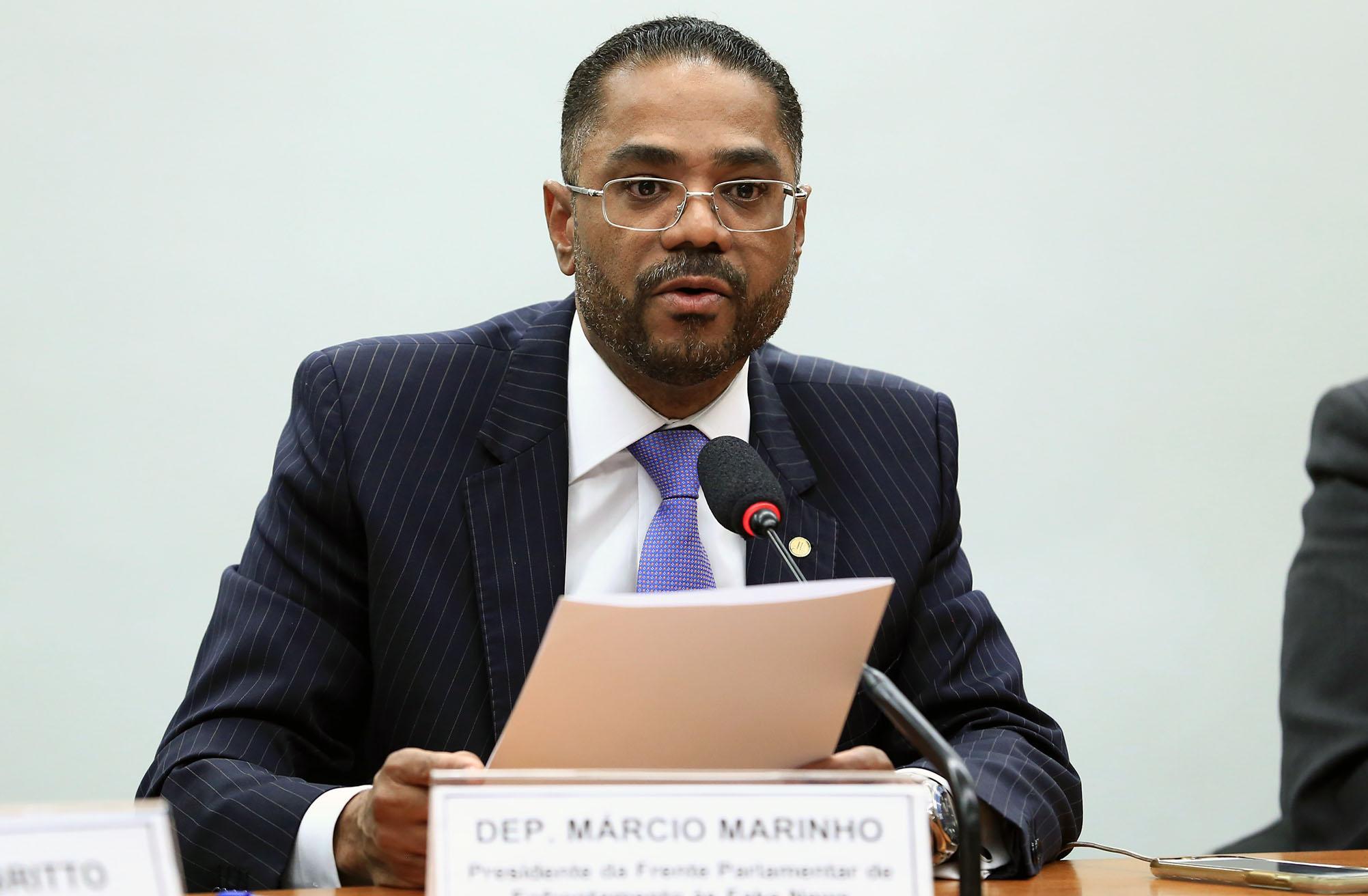 1ª Reunião de trabalho da Frente. Dep. Márcio Marinho (PRB - BA)